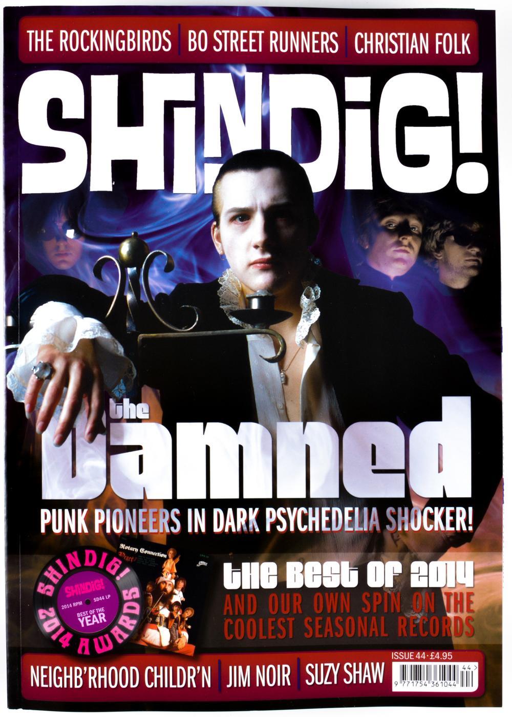 + SHINDIG! MAGAZINE - Issue 44 The Damned