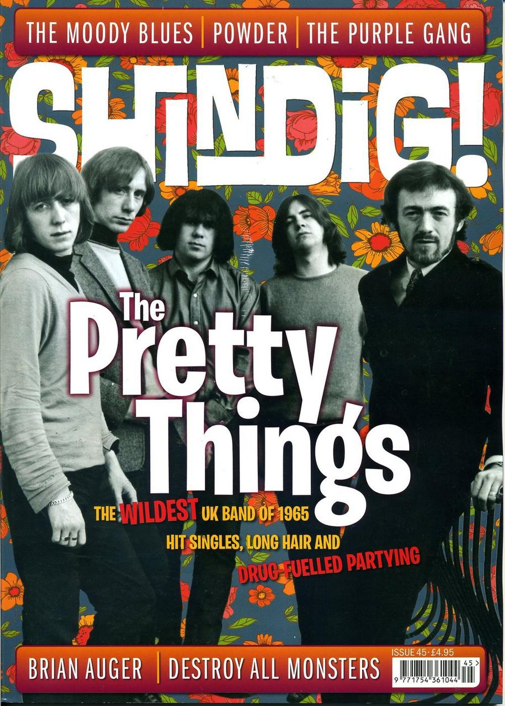 + SHINDIG! MAGAZINE - Issue 45 The Pretty Things