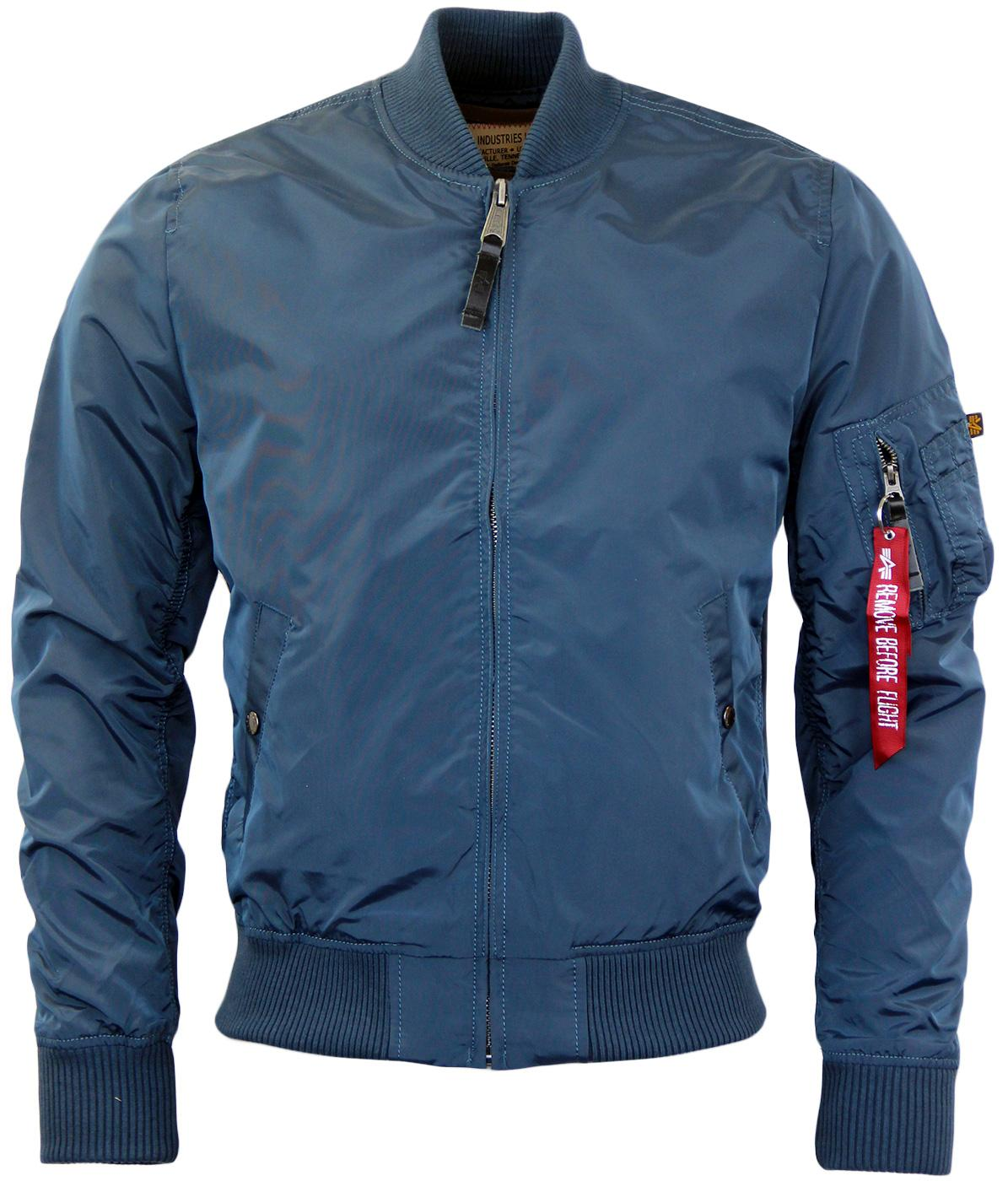MA1 TT ALPHA INDUSTRIES Retro Mod Bomber Jacket BB