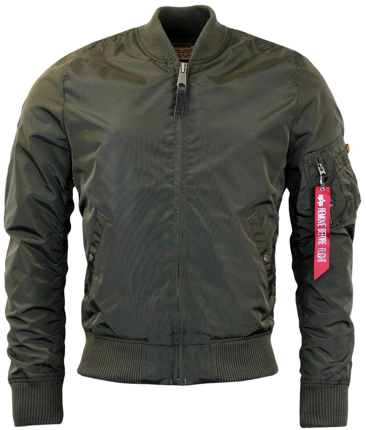 MA1 TT ALPHA INDUSTRIES Retro Mod Bomber Jacket RG