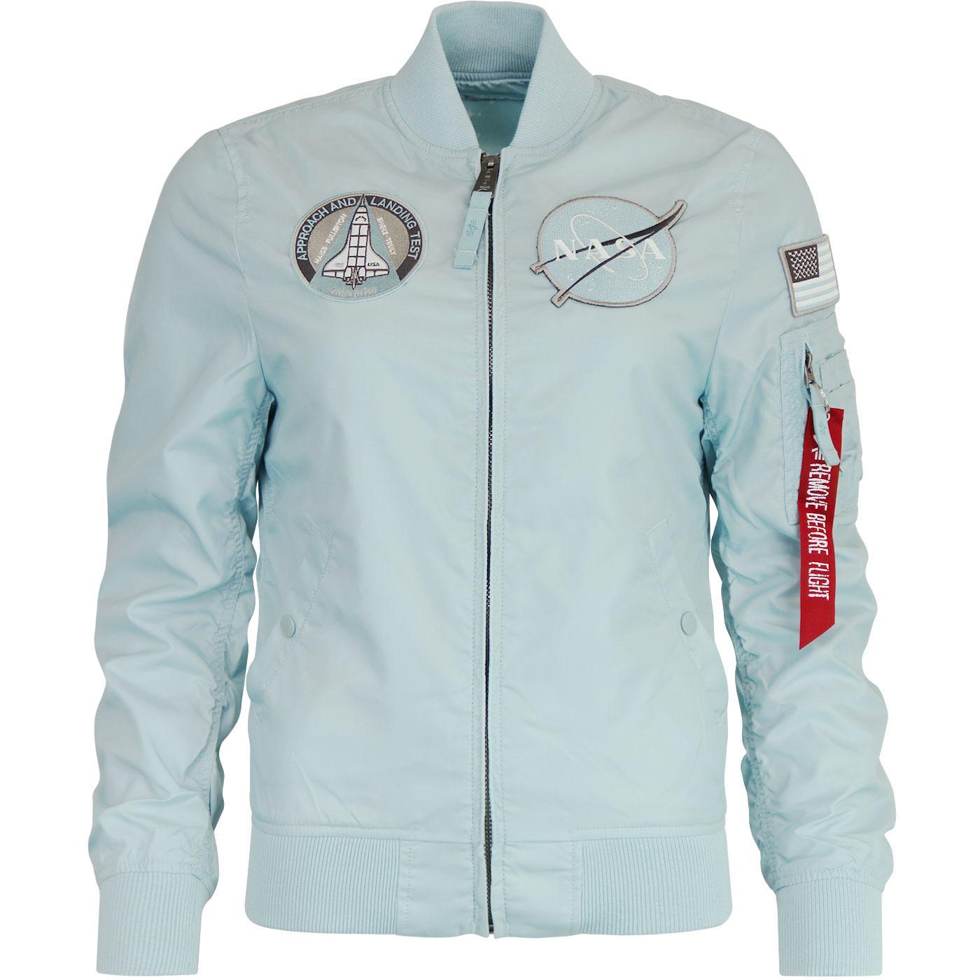 ALPHA INDUSTRIES MA-1 TT Nasa Reversible Jacket B