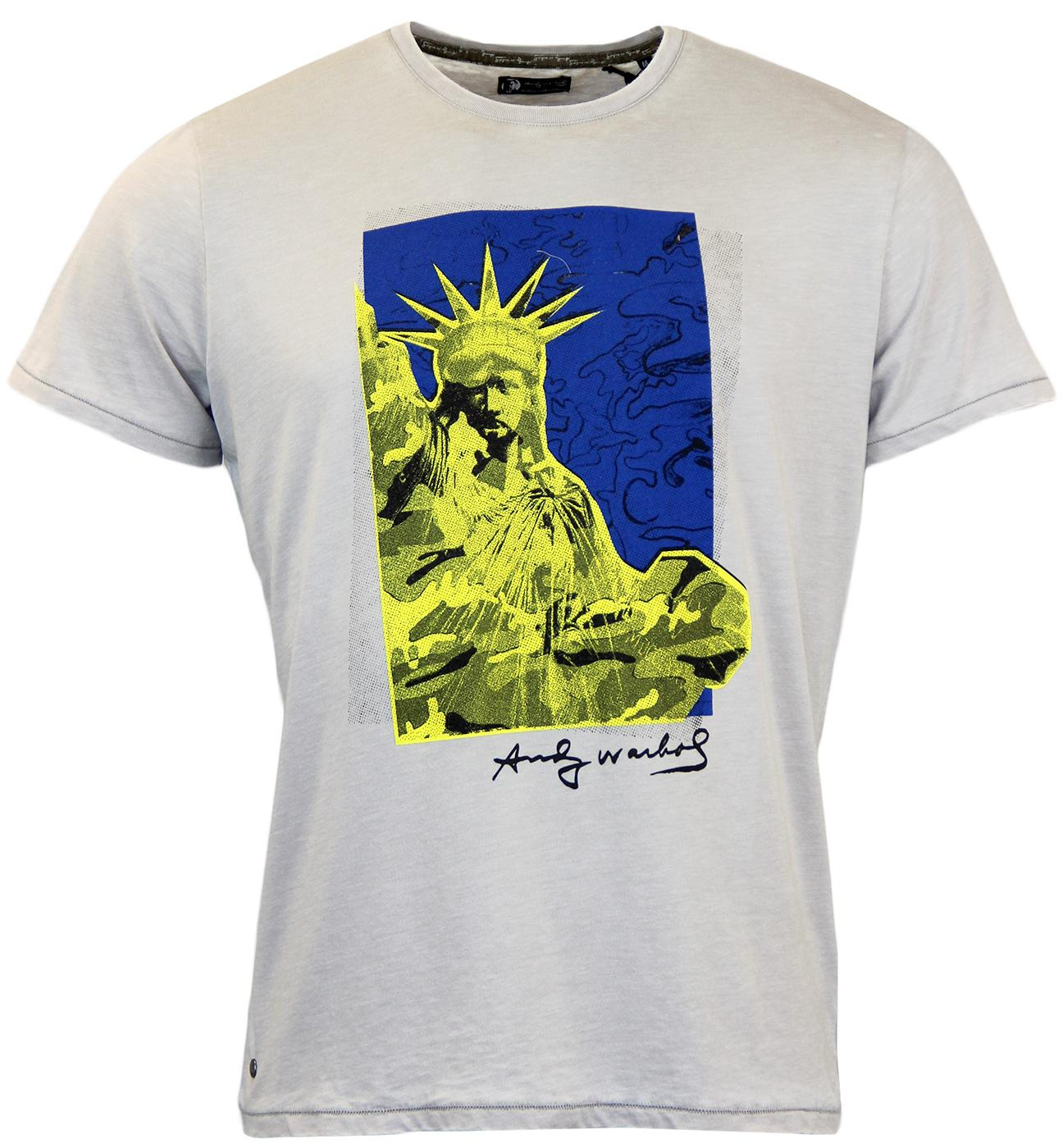 Liberty ANDY WARHOL Statue Of Liberty Pop Art Tee