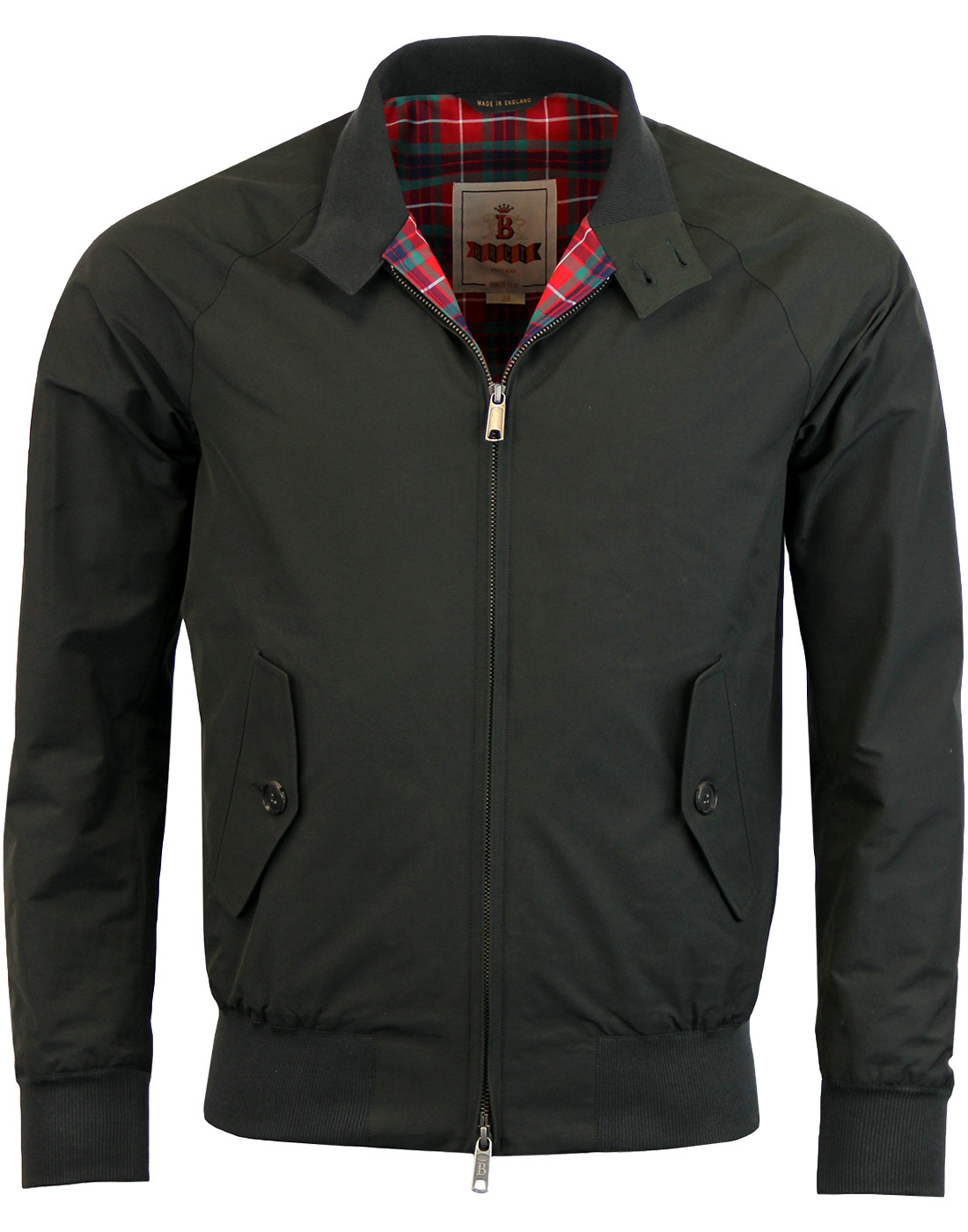 BARACUTA G9 Retro Mod 60s Harrington - Faded Black