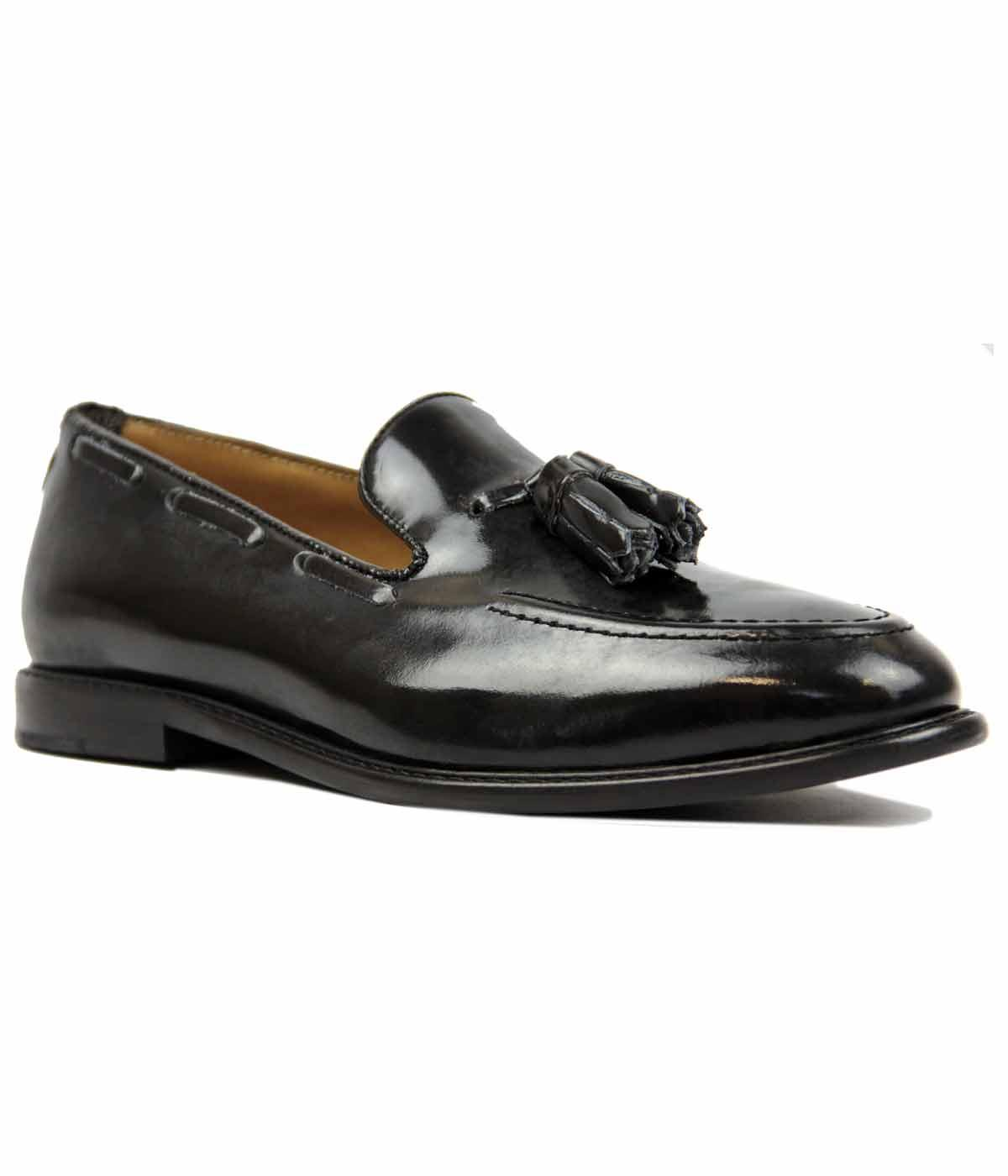 Alfr City Loafer BEN SHERMAN Retro Mod Loafers (B)