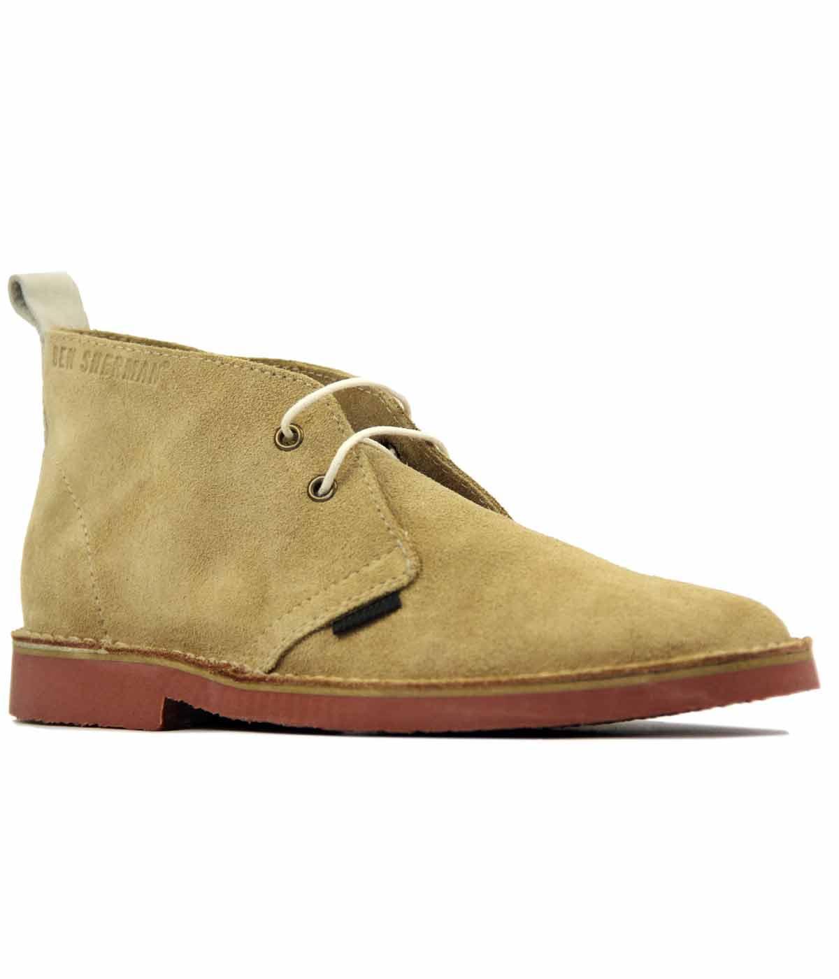 BEN SHERMAN Oleg Desert Boots Retro Mod