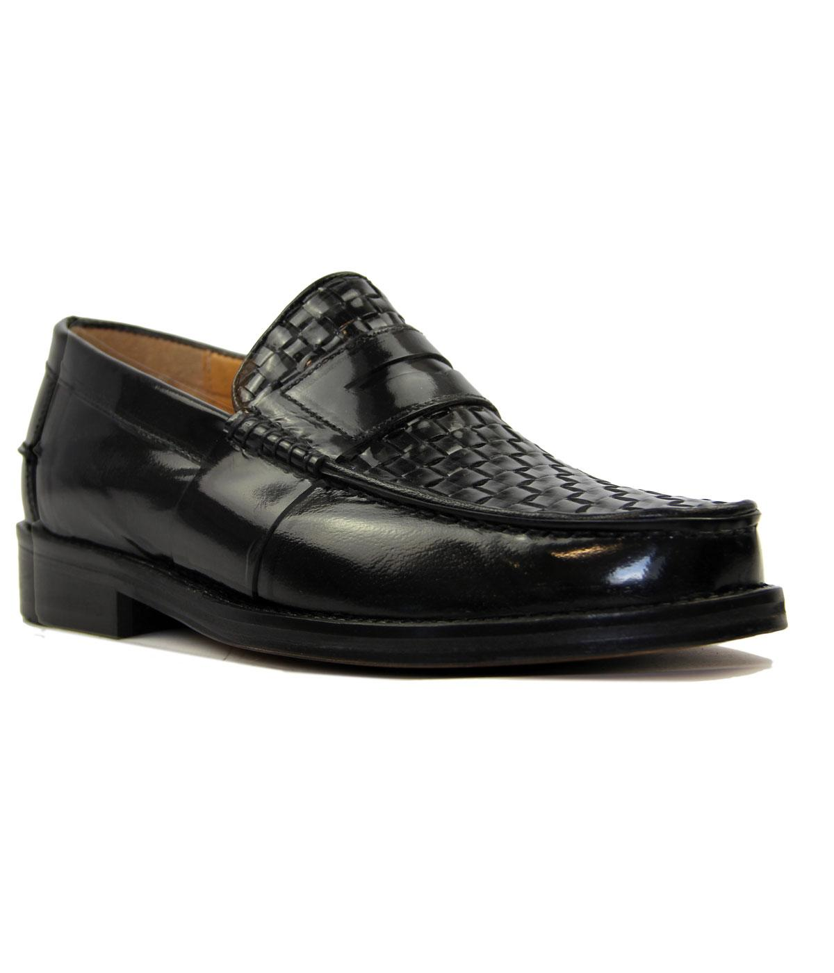 Brummell Weave DELICIOUS JUNCTION Mod Loafers (B)