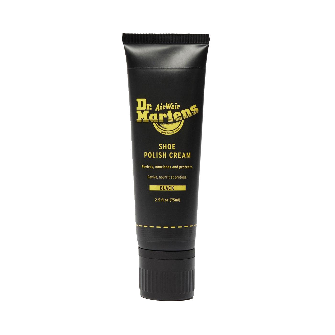 DR MARTENS 75ml Shoe Care Polish Cream (Black)