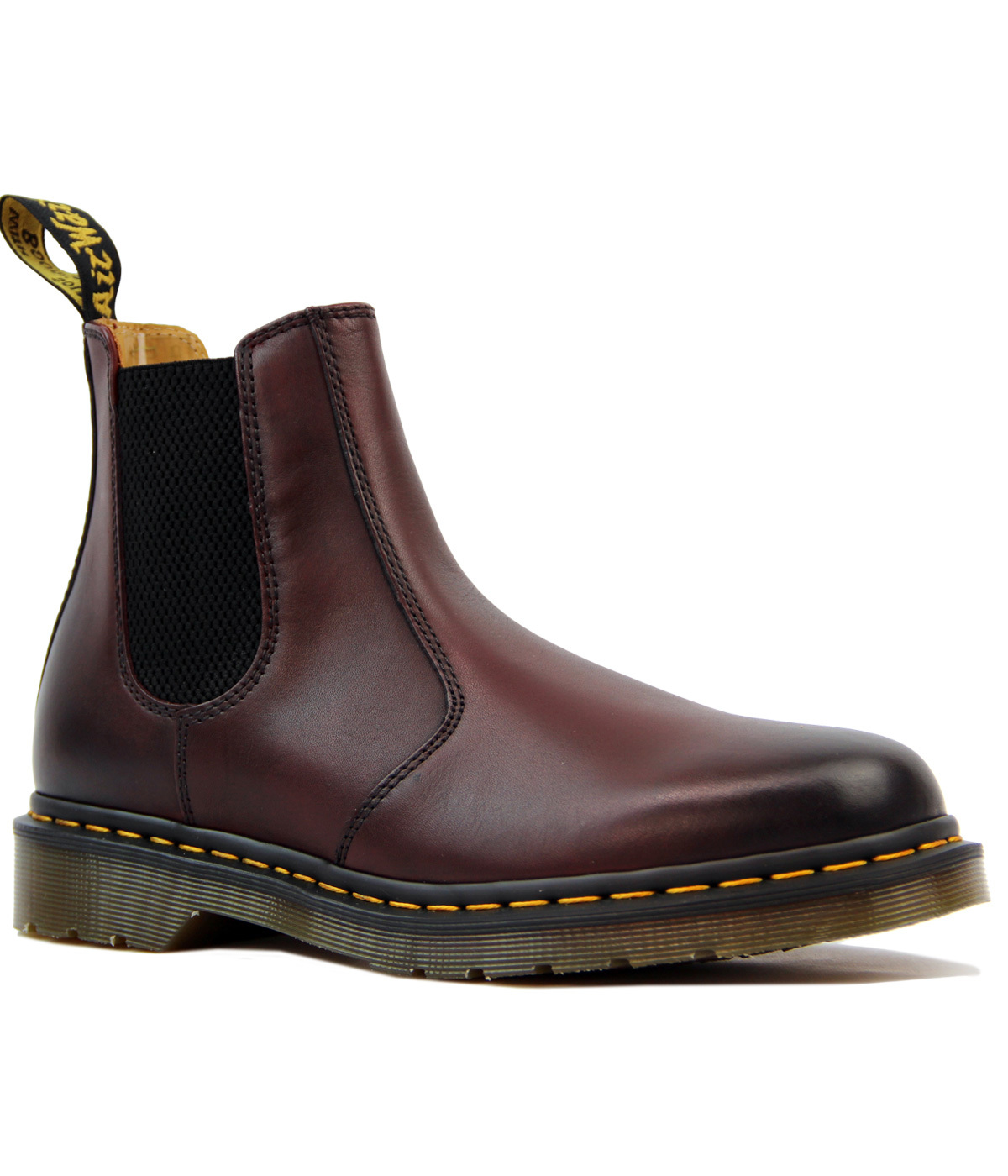 Dr Martens 2976 Cherry Red Yellow