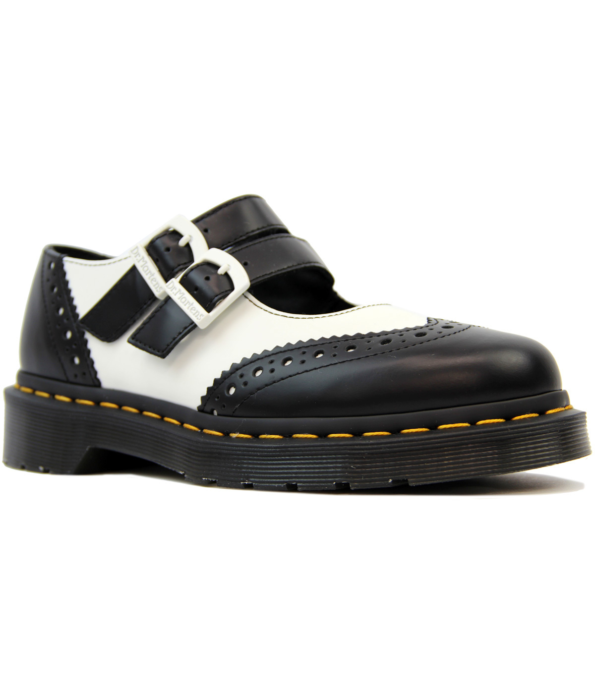Adena II DR MARTENS Retro Smooth Mary Jane Brogues