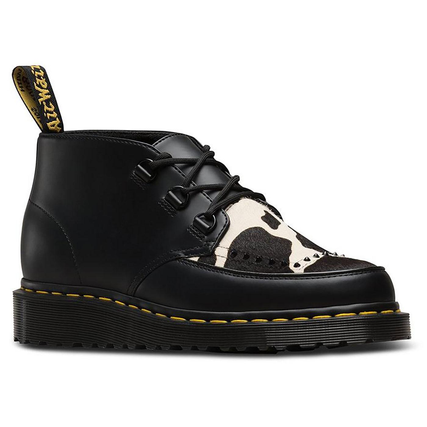 Ramsey Chukka DR MARTENS Cow Print Creeper Boots