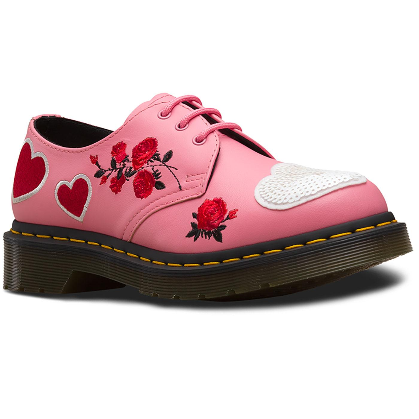 DR MARTENS 1461 Sequin Hearts Retro