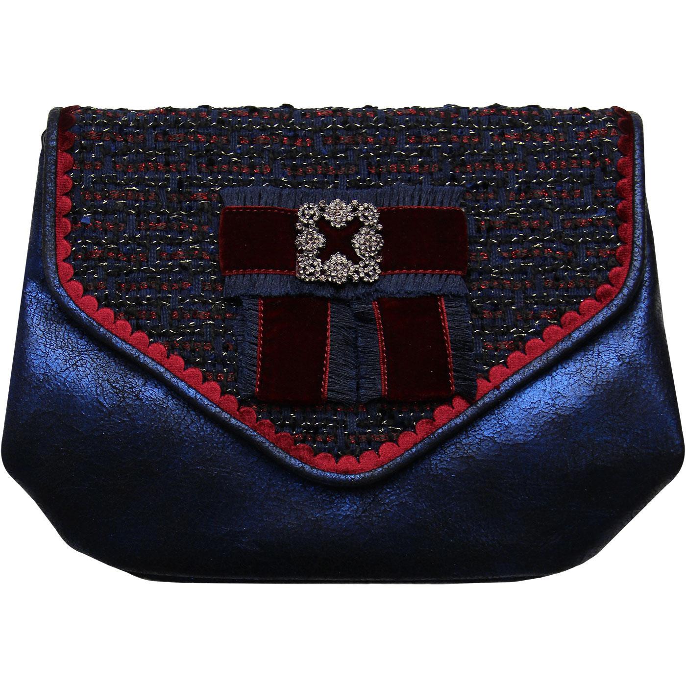 Duchess JOE BROWNS Vintage Woven Metallic Handbag