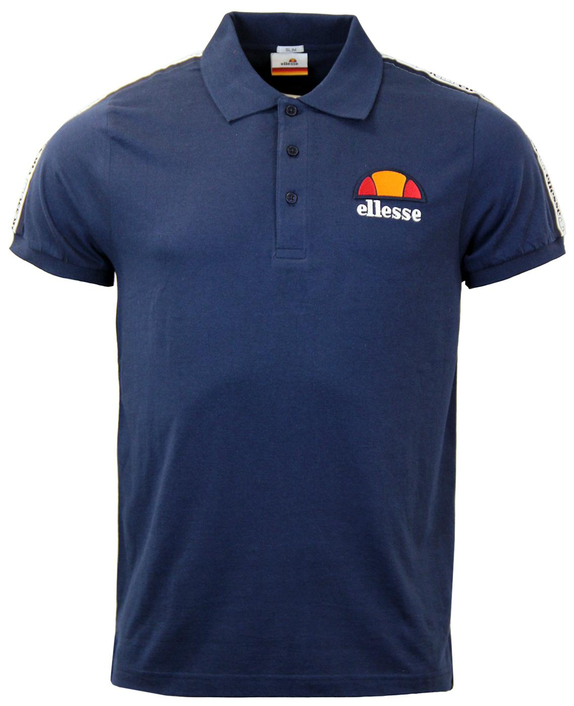 Mangart ELLESSE Retro 80s Taped Sleeves Polo