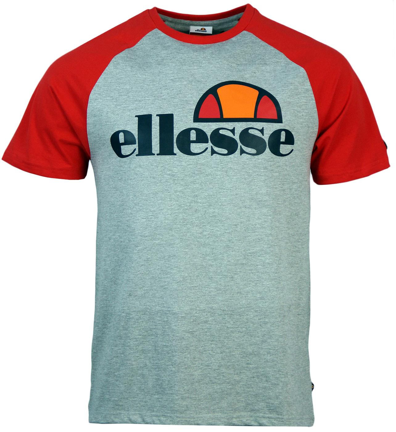 Scanno ELLESSE Retro 1980s Raglan Sleeves T-Shirt