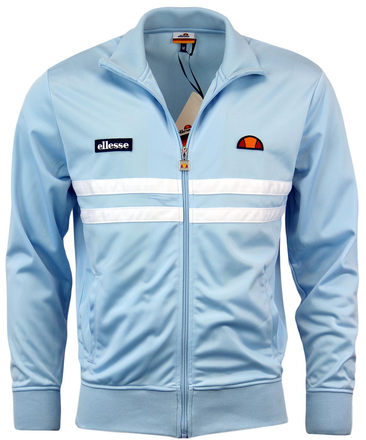 Vicenza 2 ELLESSE Retro 80s Twin Stripe Track Top