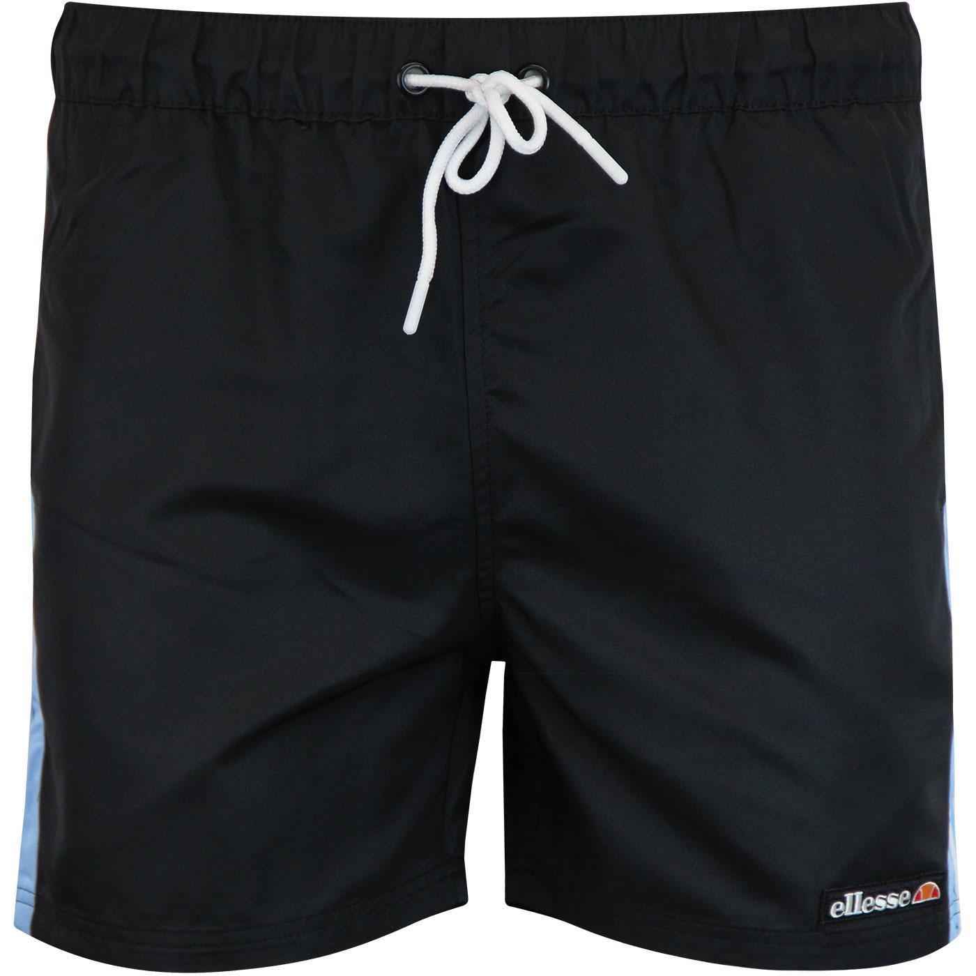 Apiro ELLESSE Retro 80s Stripes Swimshorts BLACK