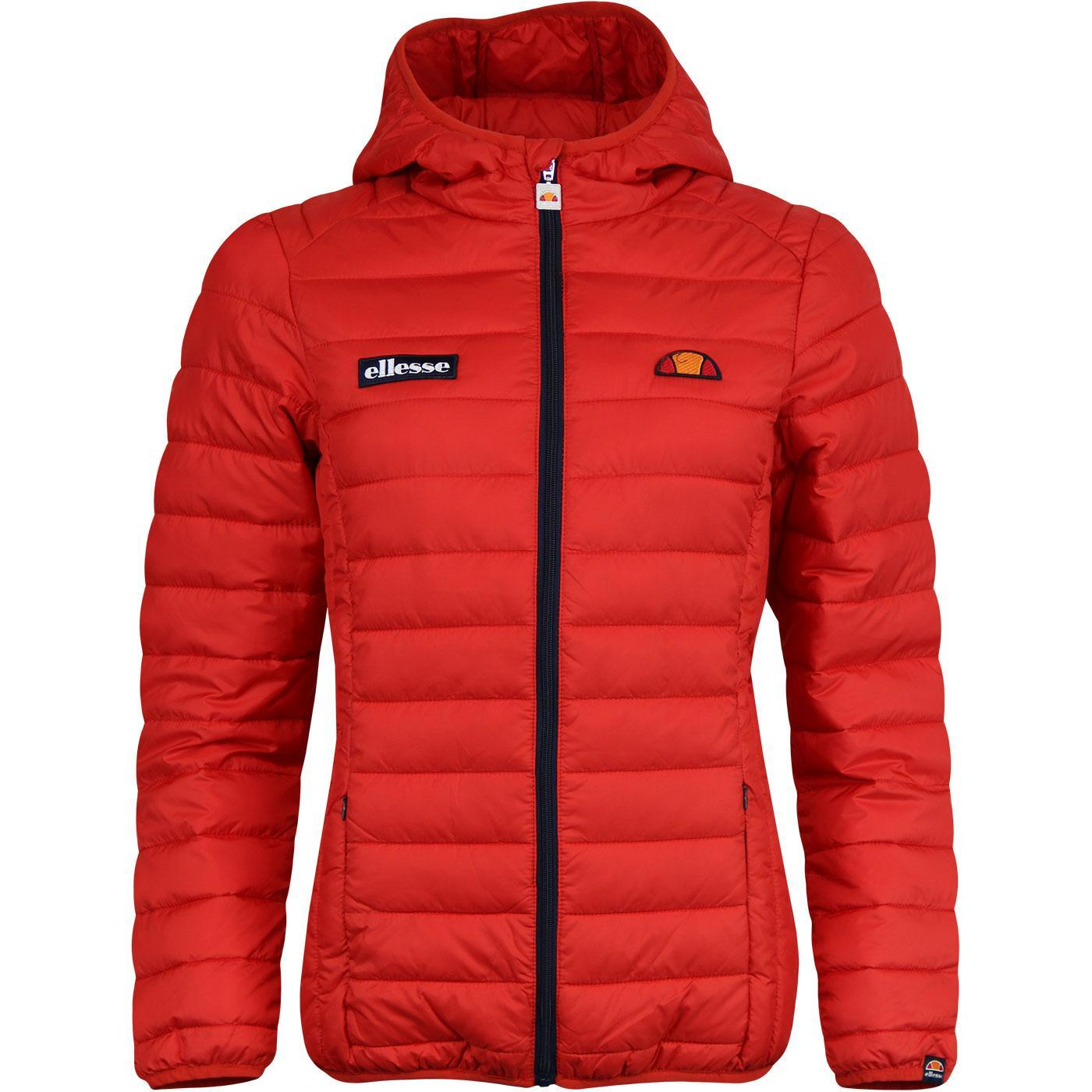 Lompard ELLESSE Retro 70s Padded Ski Jacket (Red)