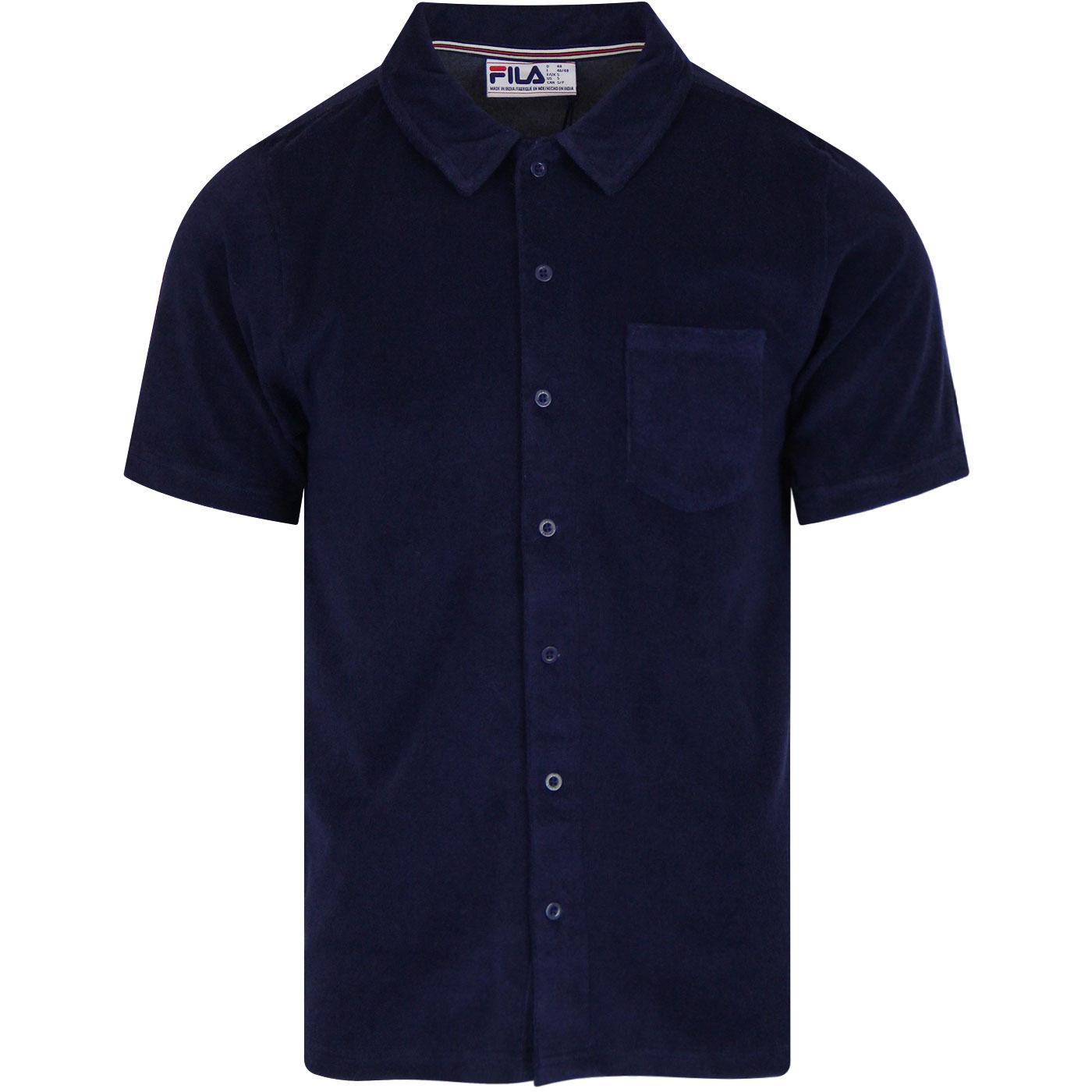 Villento ELLESSE Retro Colour Block Polo Shirt (N)