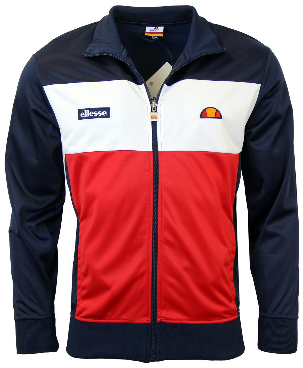 Caprini ELLESSE Retro 1970s Block Panel Track Top