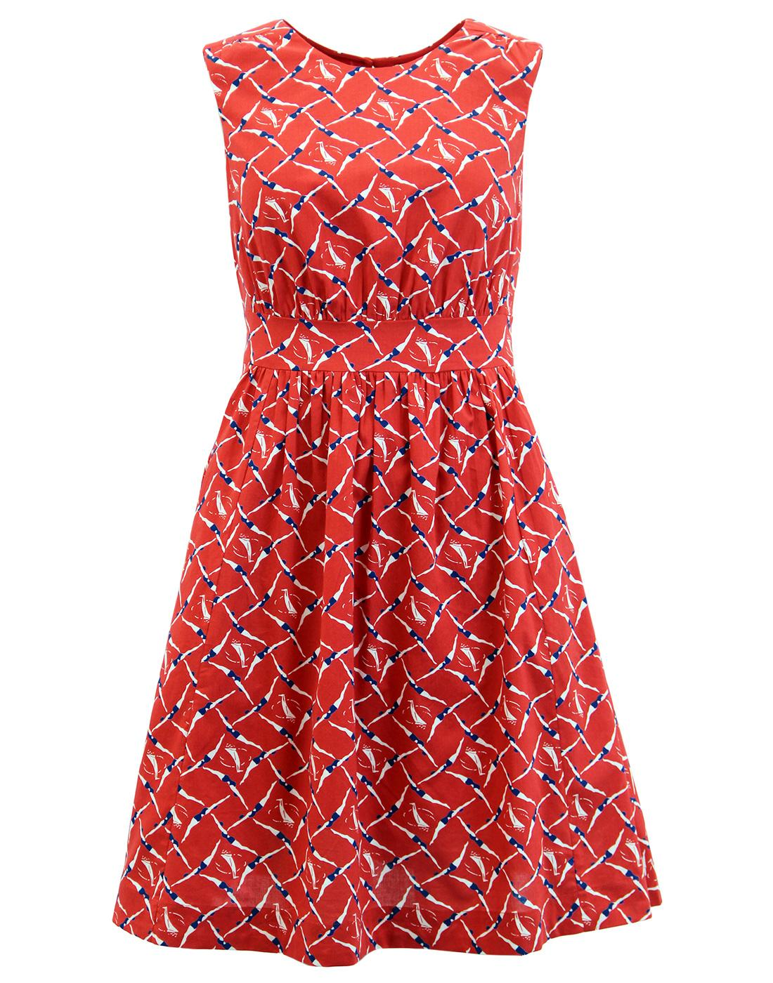 Lucy EMILY AND FIN Retro Vintage Sleeveless Dress