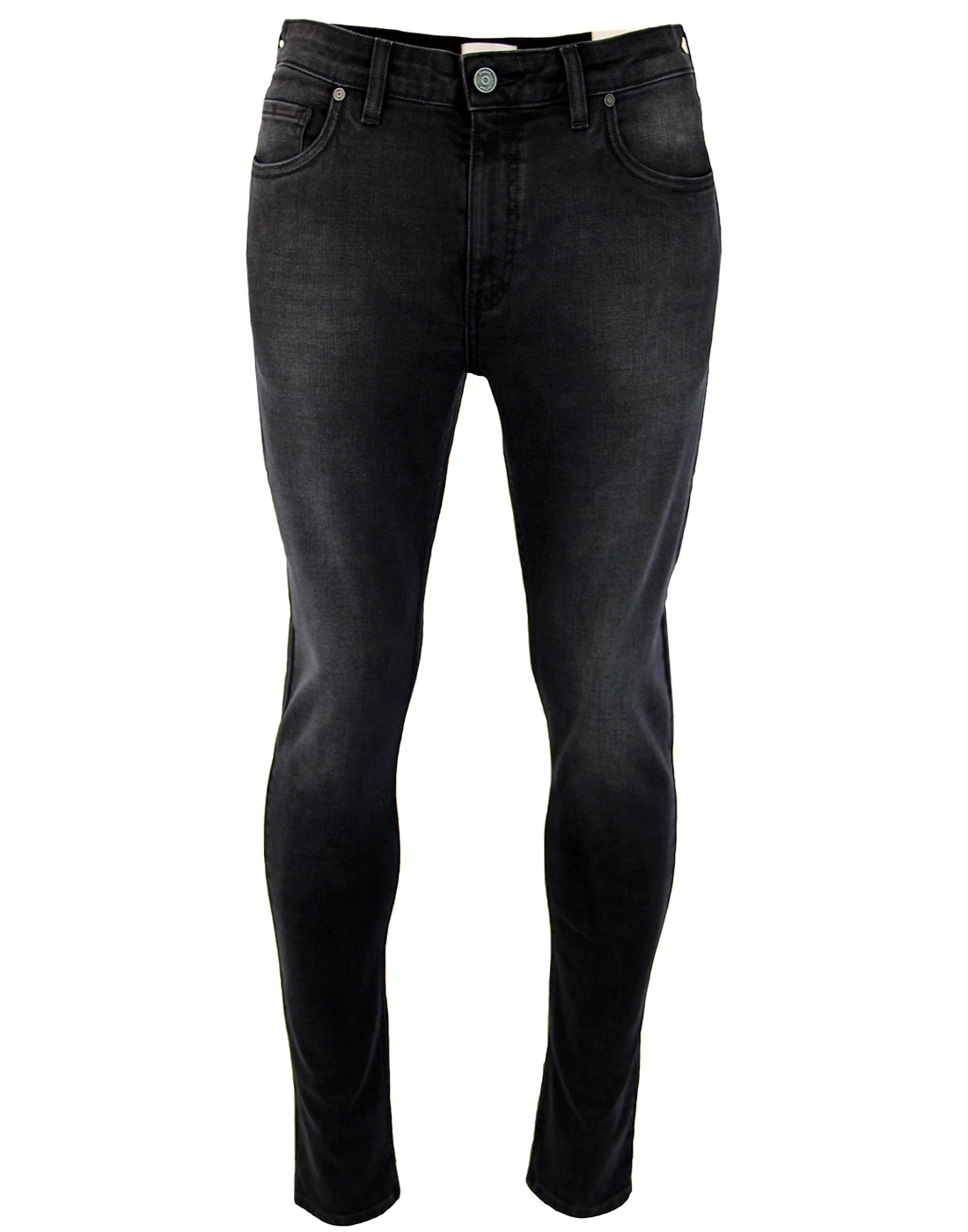 Drake FARAH Indie Soft Stretch Slim Jeans Charcoal