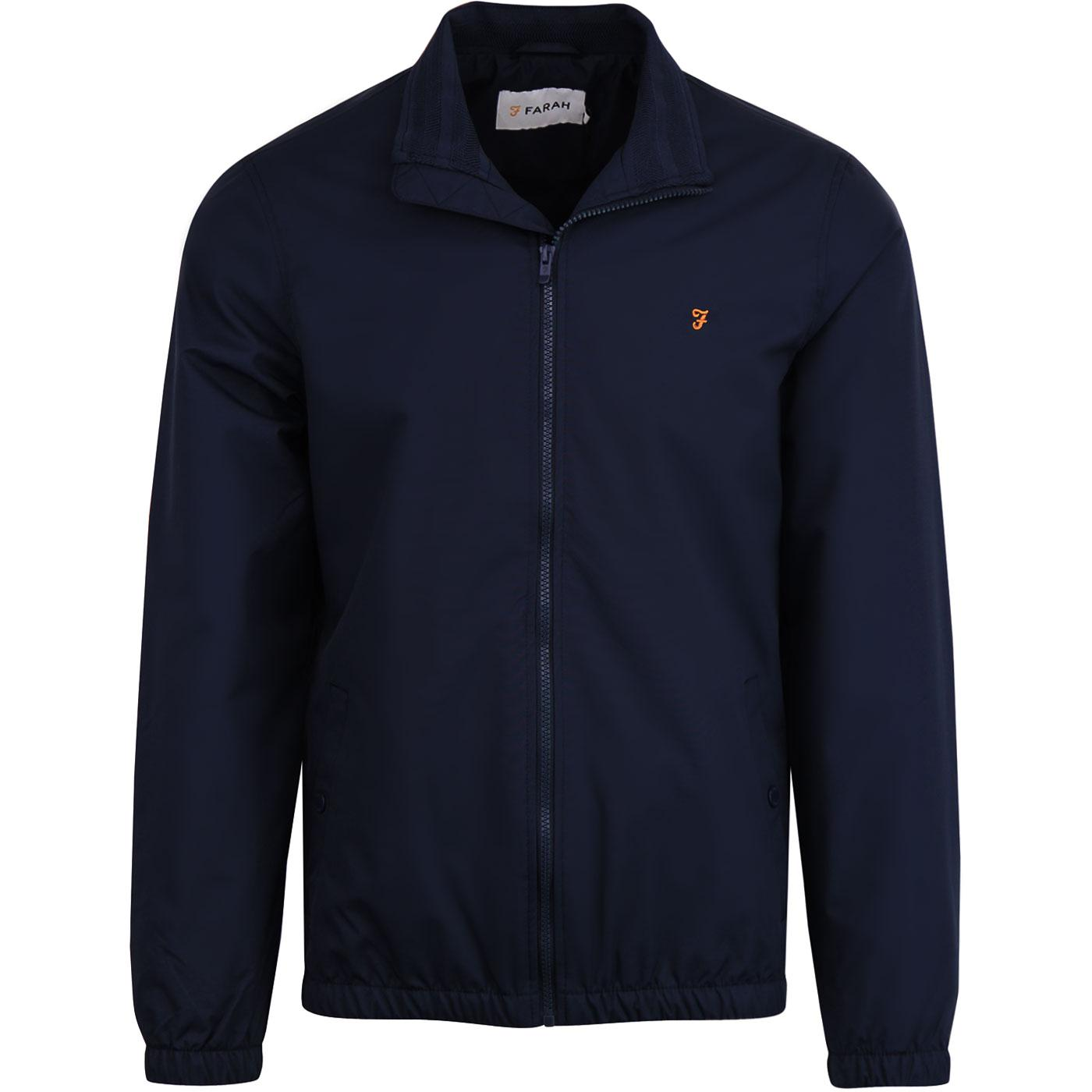 Olsen FARAH Mens Retro Zip Through Blouson Jacket