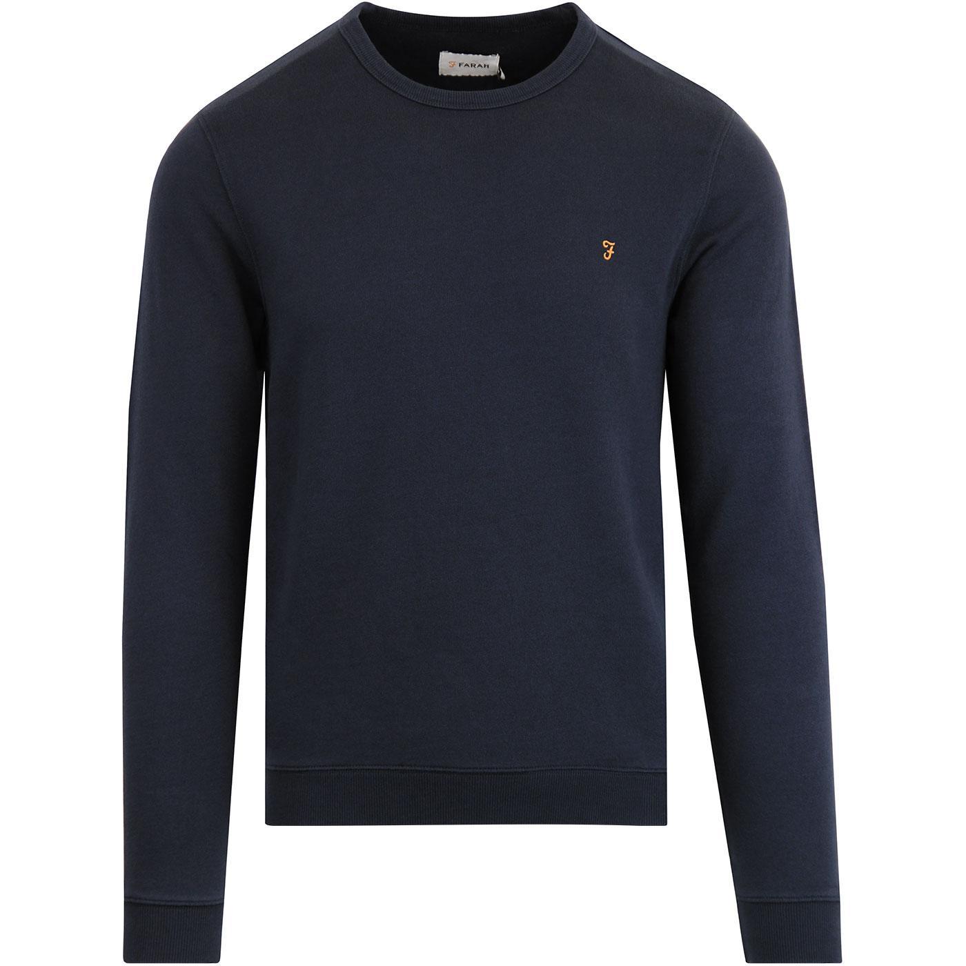 Pickewell FARAH Mens Retro Indie Sweatshirt (Yale)