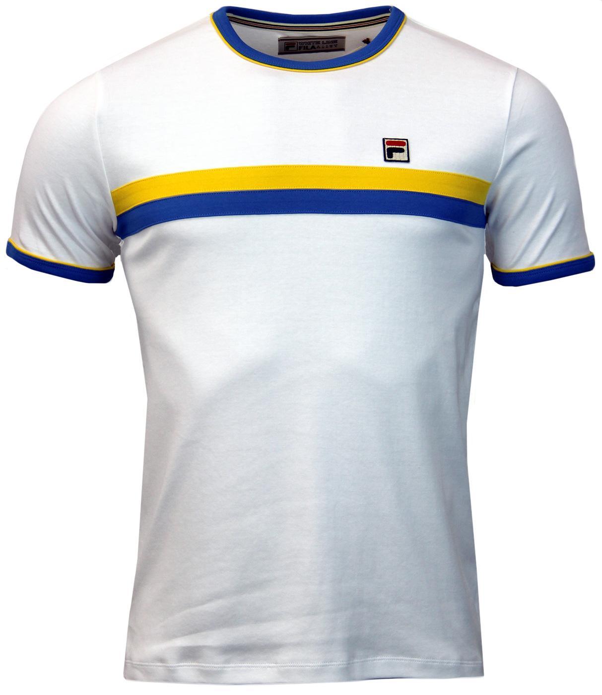 Razee FILA VINTAGE Seventies Chest Stripe T-Shirt