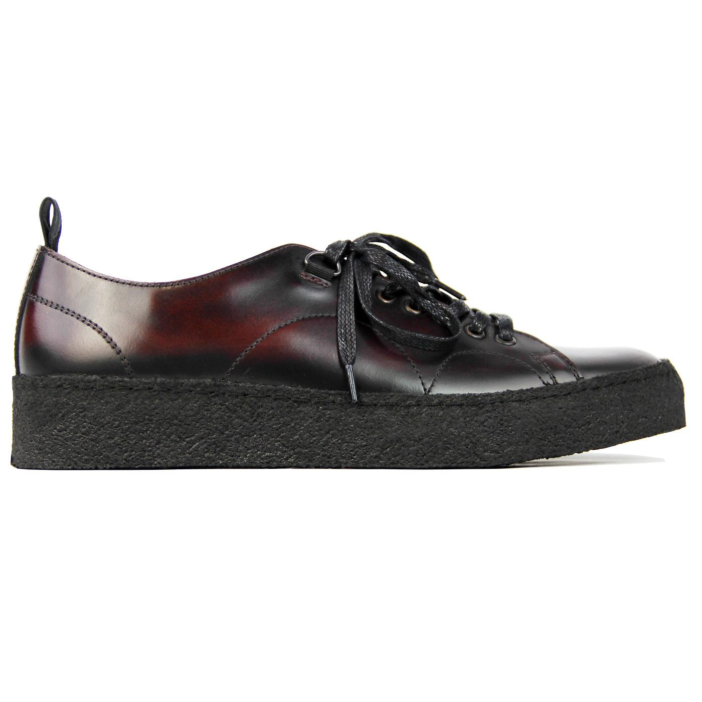 FRED PERRY X GEORGE COX Retro Mod Creeper Shoes