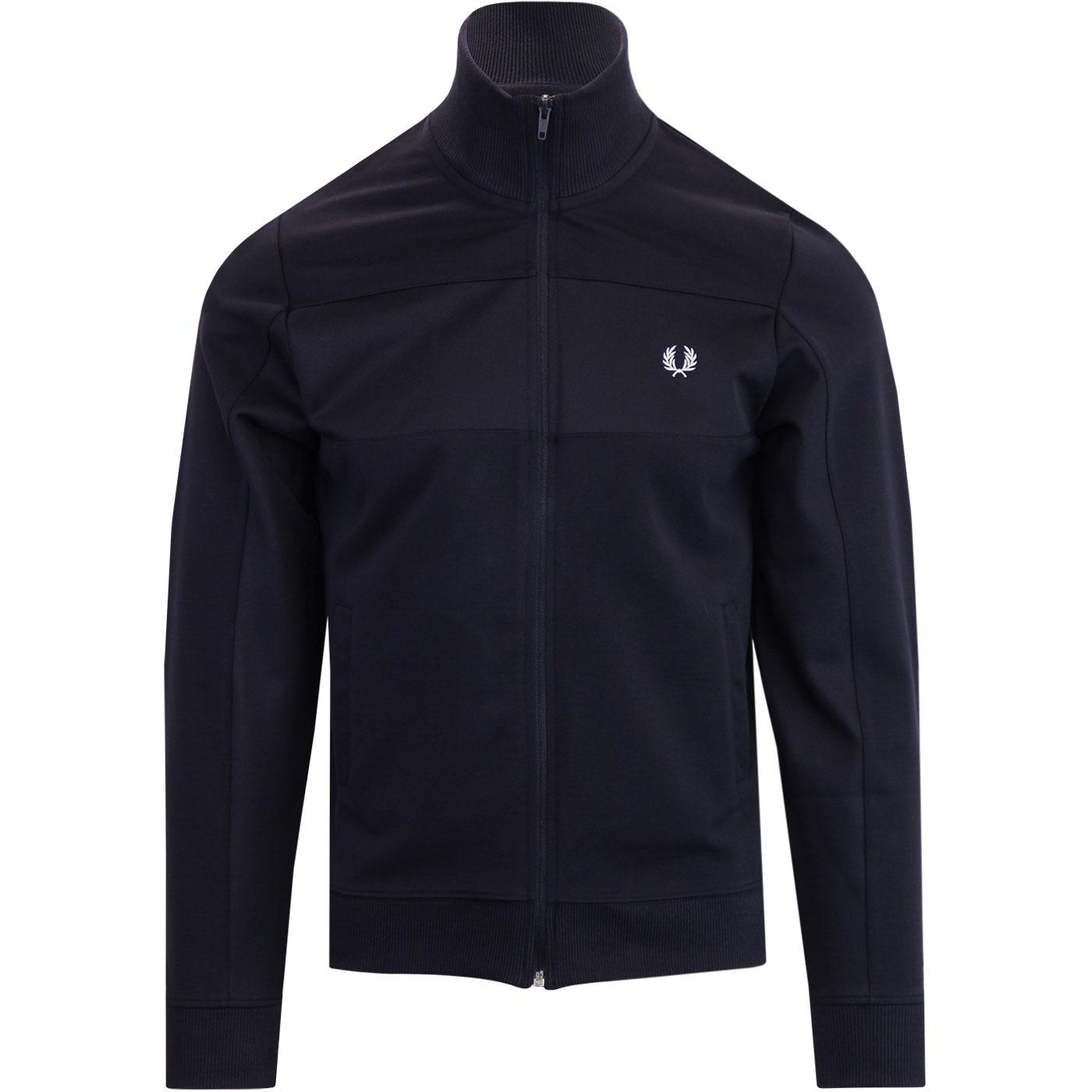 FRED PERRY Men's Retro Funnel Neck Track Jacket