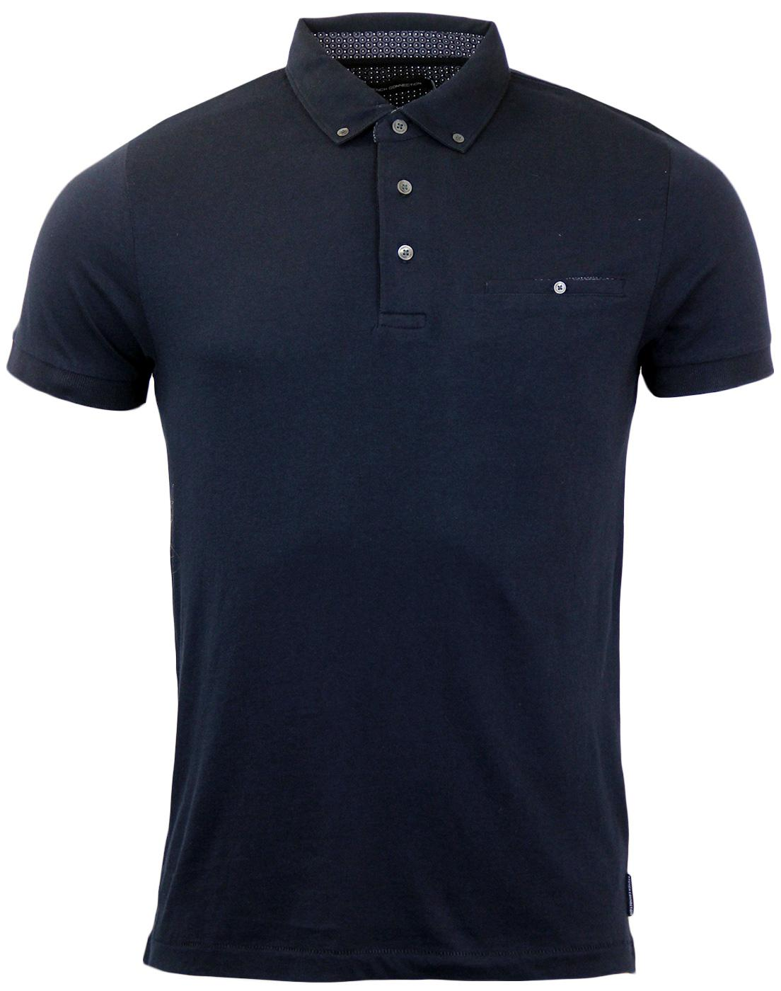 FRENCH CONNECTION Retro Mod Chest Pocket Polo