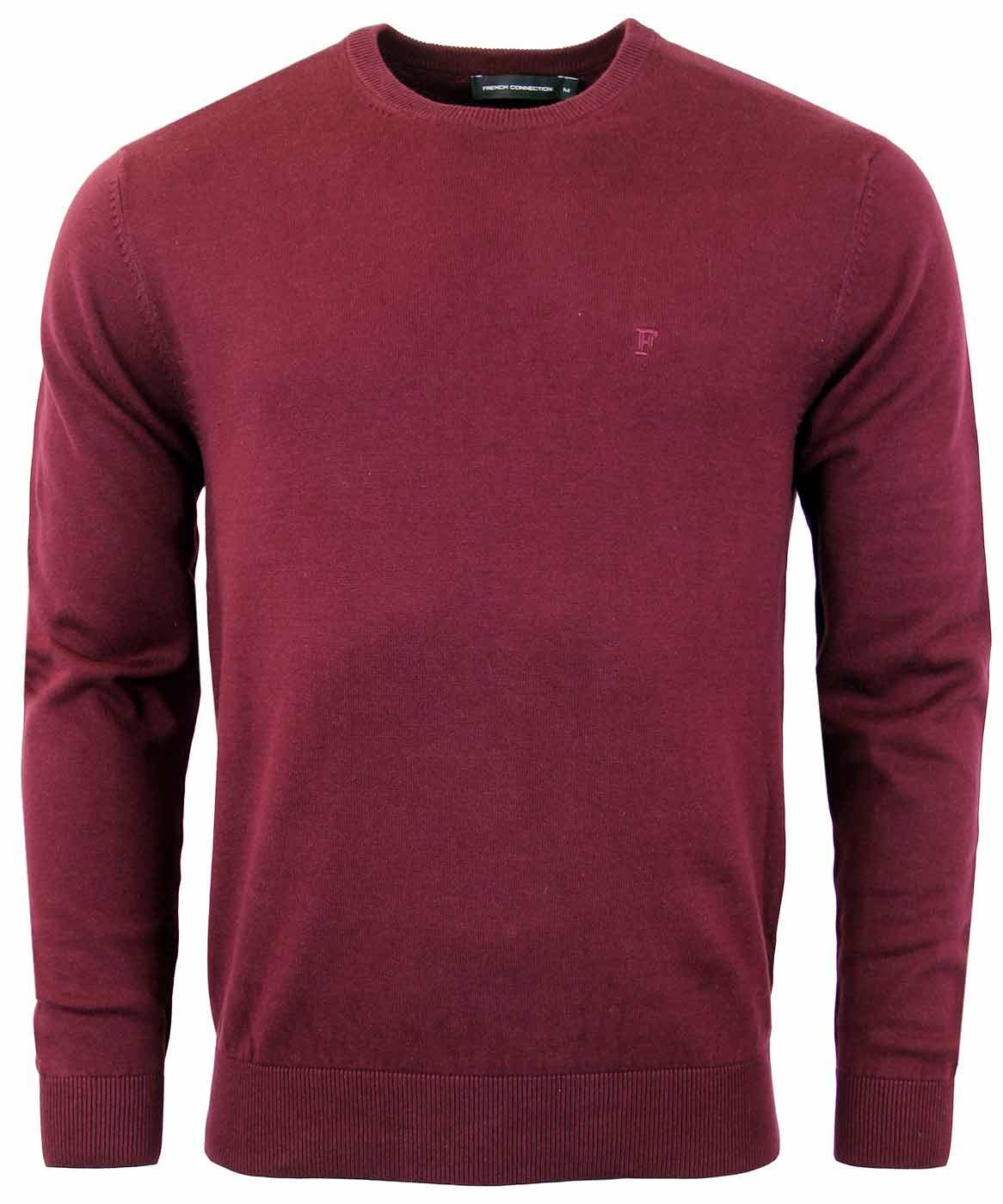 Auderly FRENCH CONNECTION Retro Crew Neck Jumper