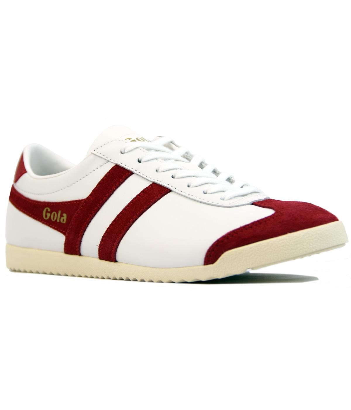 GOLA Bullet Retro 70s Mens Indie Leather Trainers