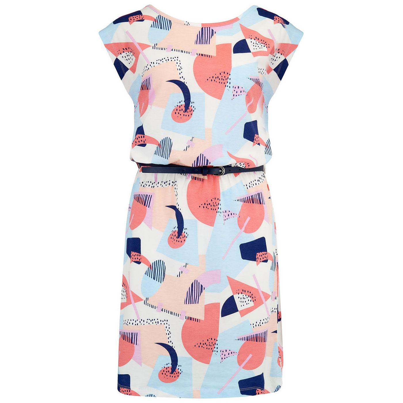 Hetty SUGARHILL BRIGHTON Abstract Geo Dress