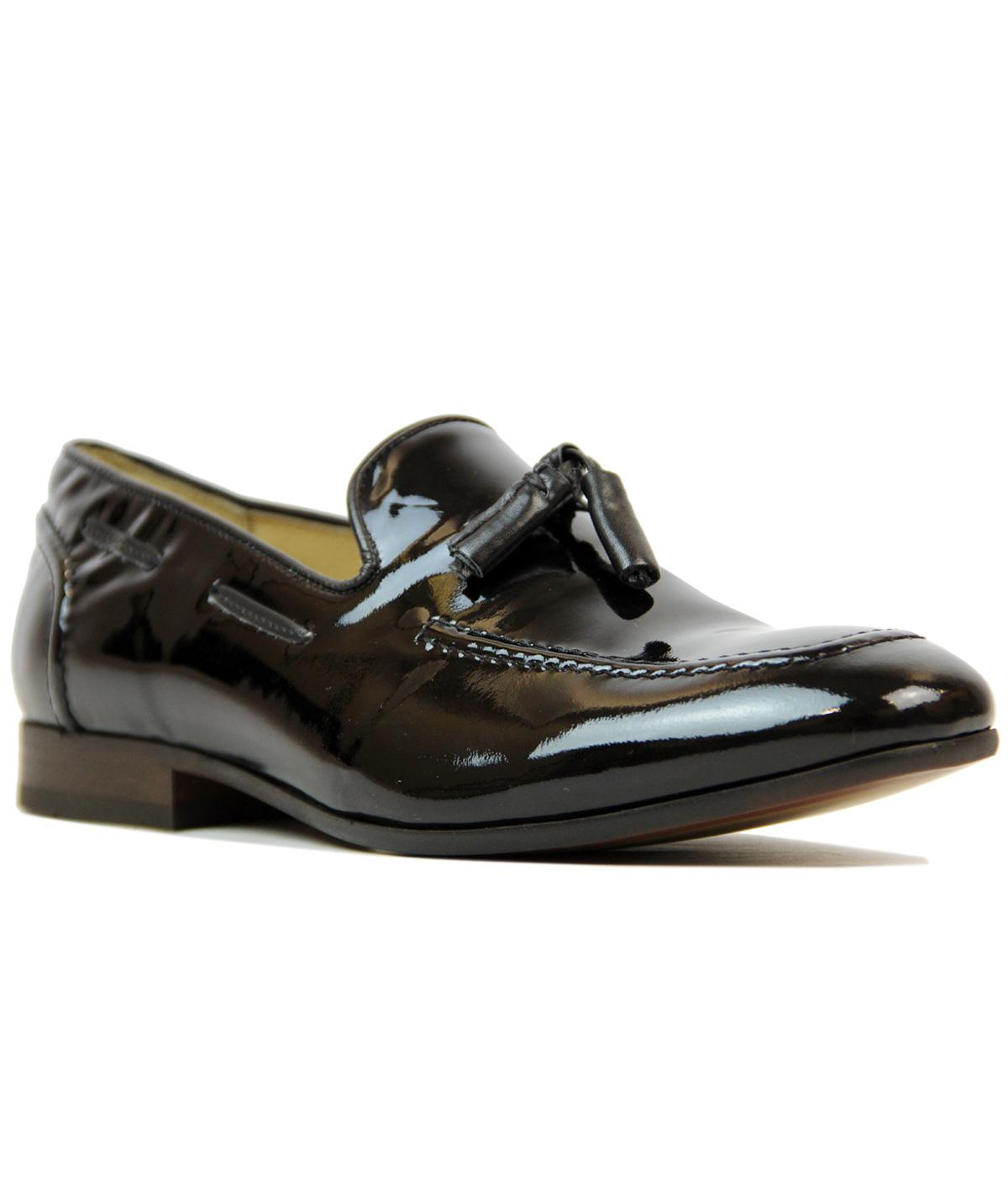 Pierre H by HUDSON 60s Mod Patent Leather Loafers