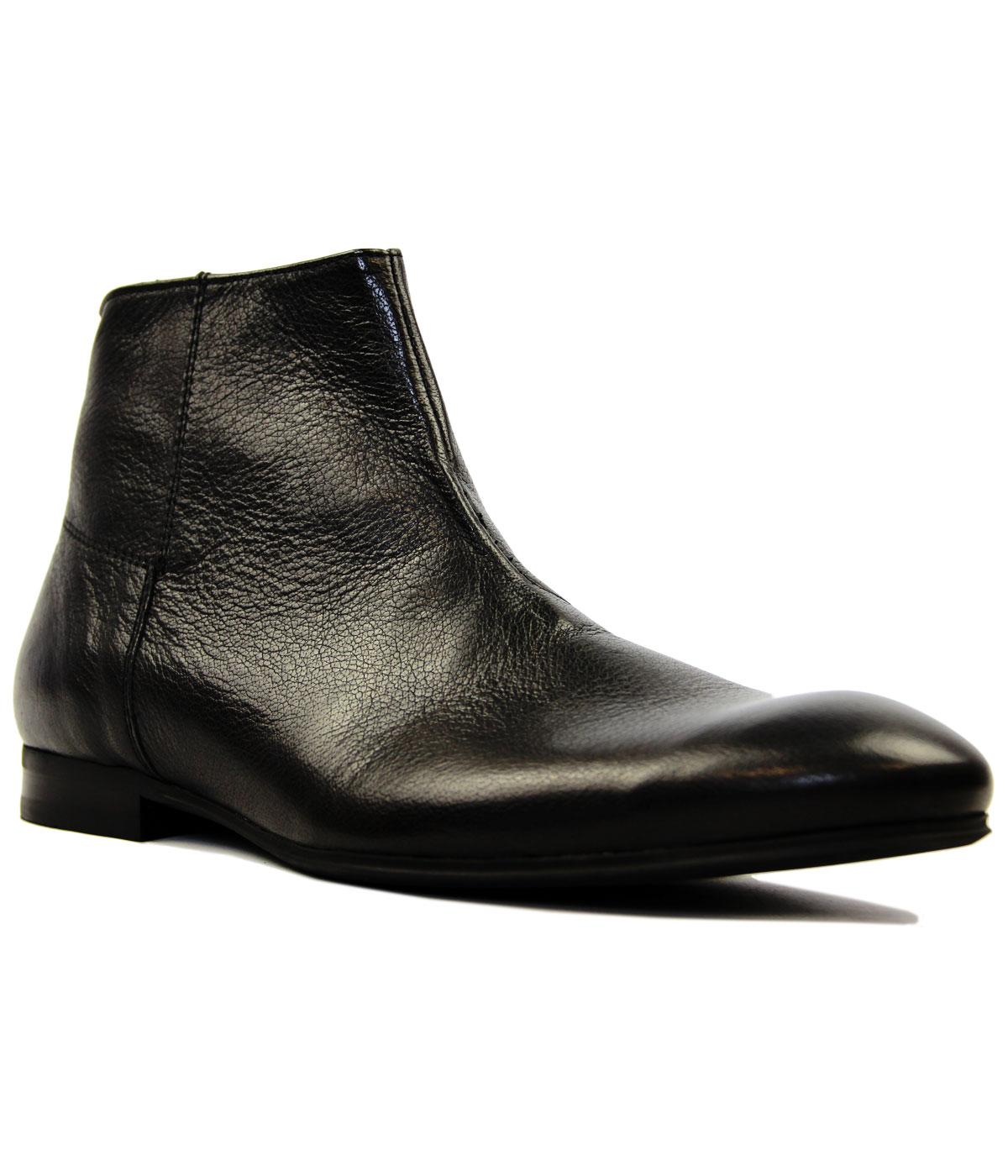 Reville H by HUDSON Retro Side Zip Chelsea Boots