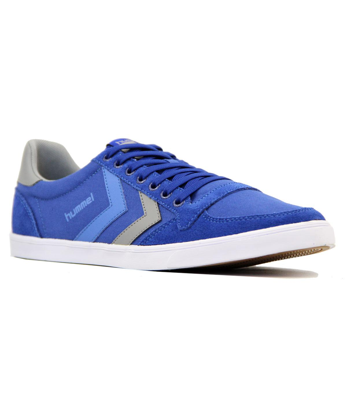 Slimmer Stadil Low HUMMEL Canvas Retro Trainers LB