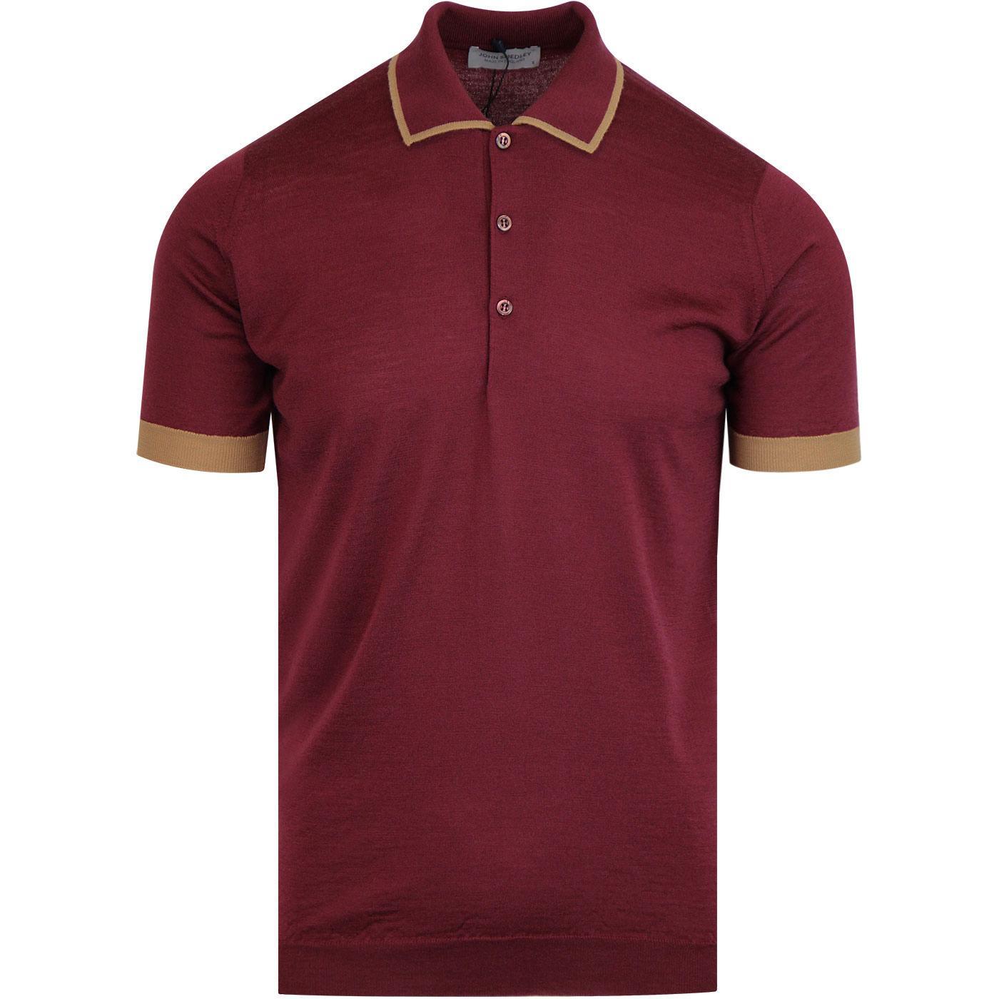 Nailsea JOHN SMEDLEY Men's Mod Tipped Polo Shirt