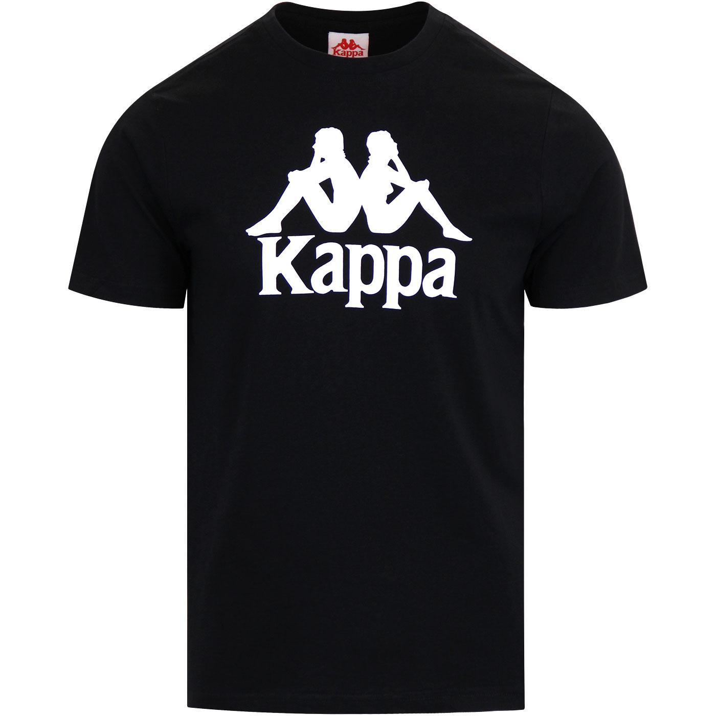 Estessi KAPPA Authentic Graphic Logo T-Shirt BLACK