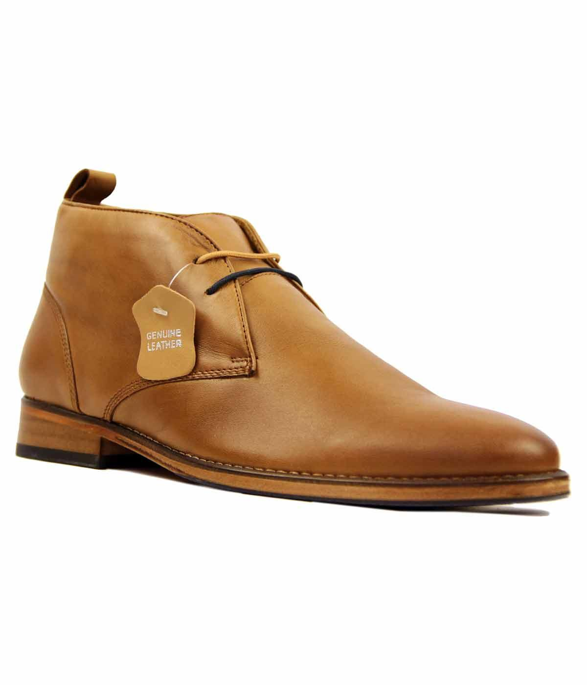 Kingston Leather PAOLO VANDINI Mod Desert Boots T