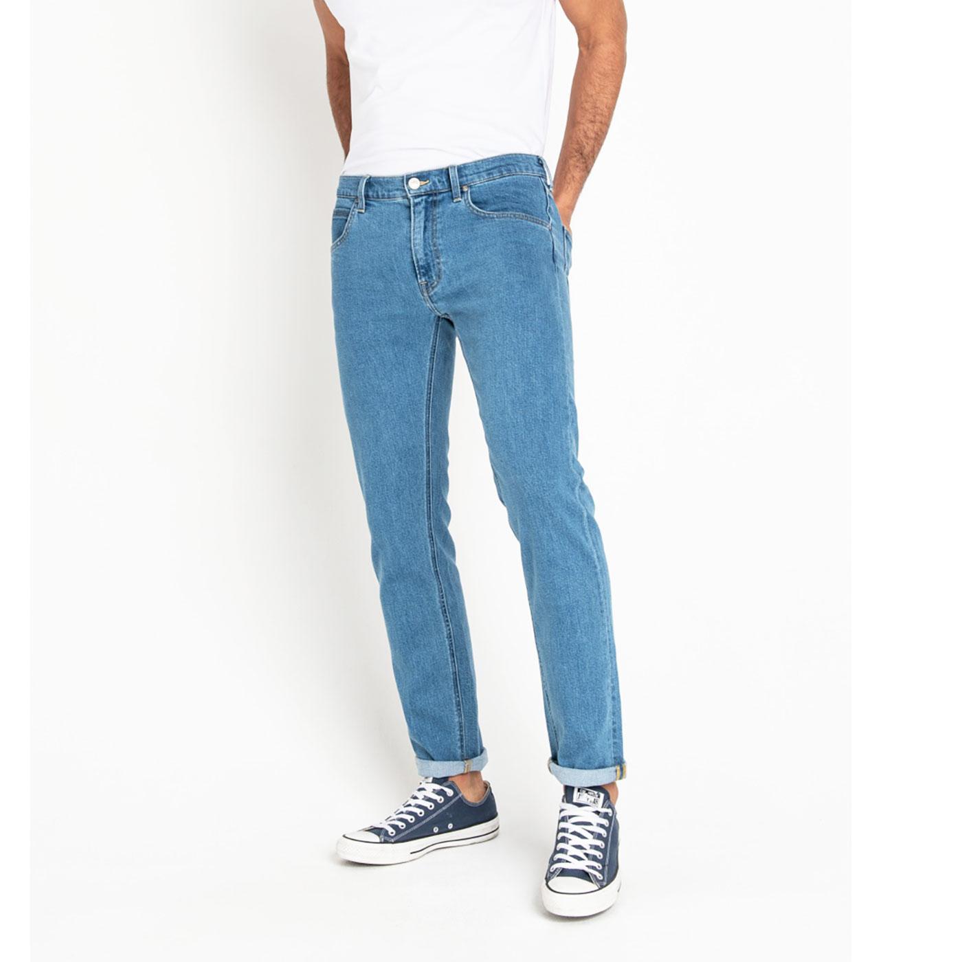 Daren LEE Regular Slim Mod Denim Jeans LIGHT STONE