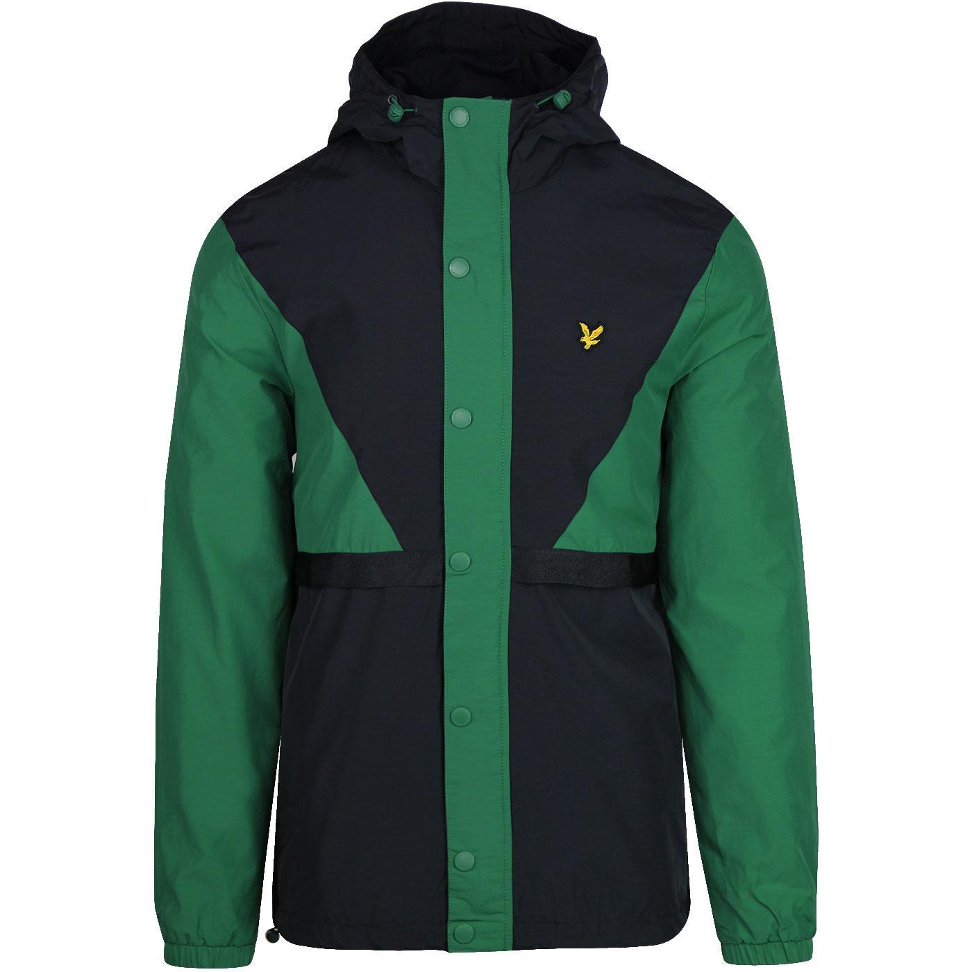 LYLE & SCOTT Colour Block Terrace Jacket (Green)