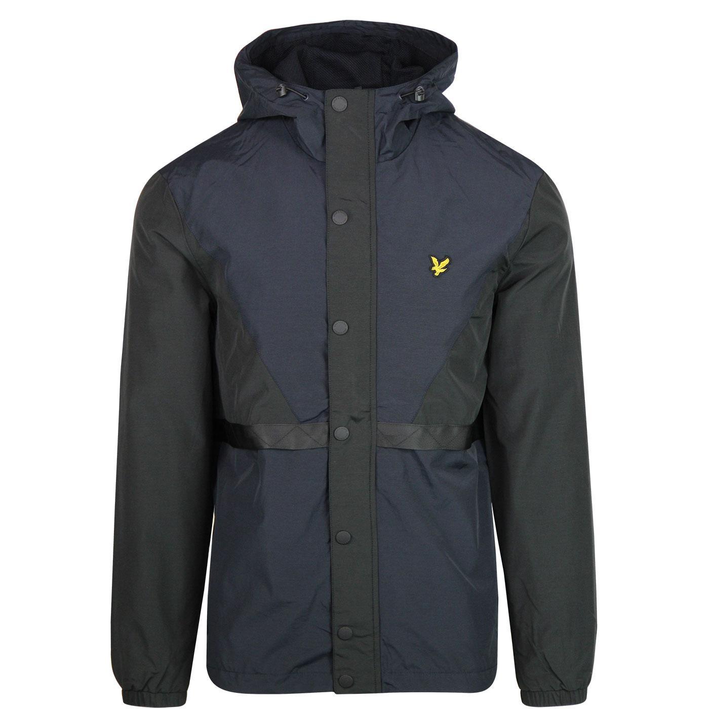LYLE & SCOTT Colour Block Terrace Jacket (Black)