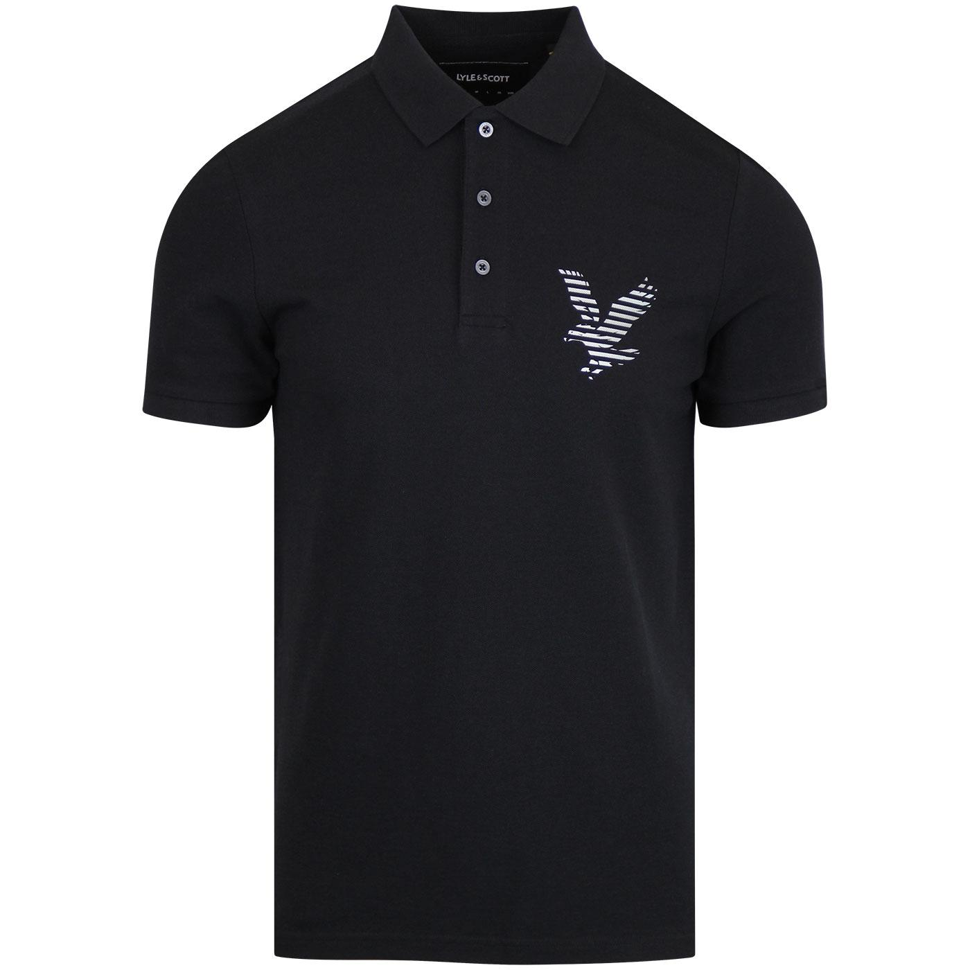 LYLE & SCOTT Casuals Retro Logo Polo Shirt (TB)