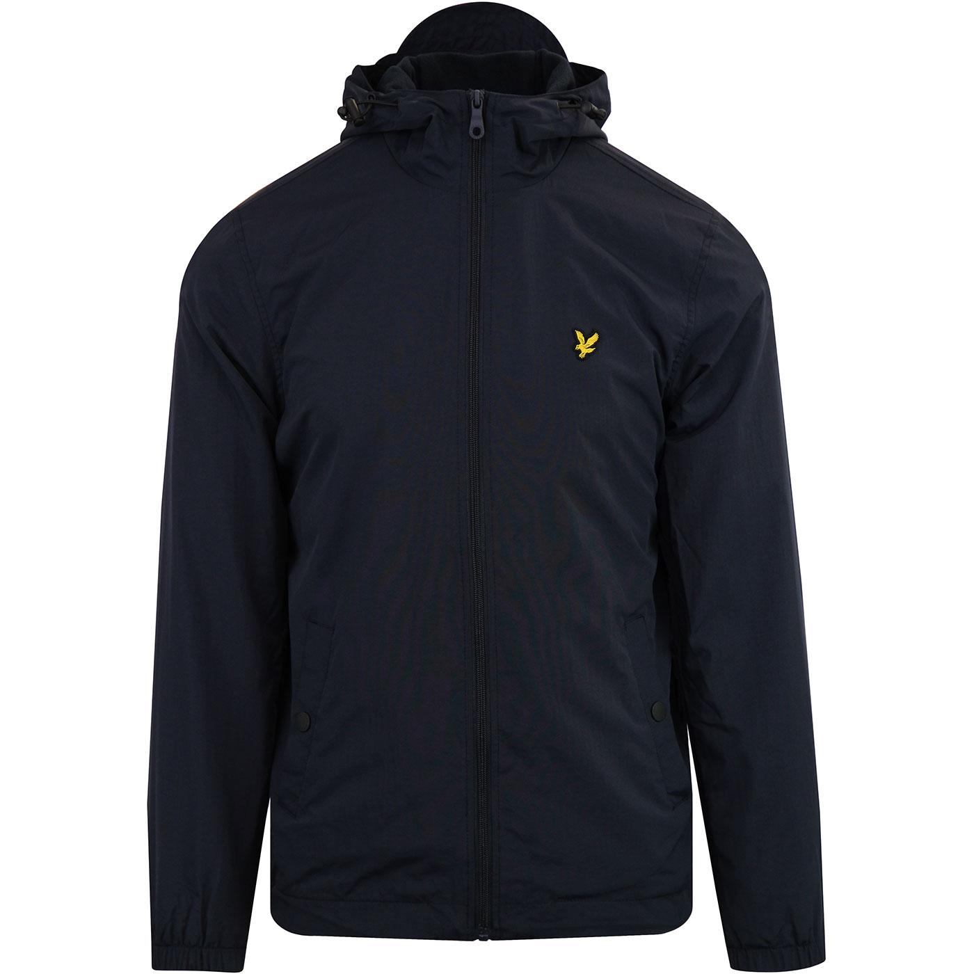 Lyle and Scott Plus Size Micro Fleece Lined Zip Through Hooded Jacket