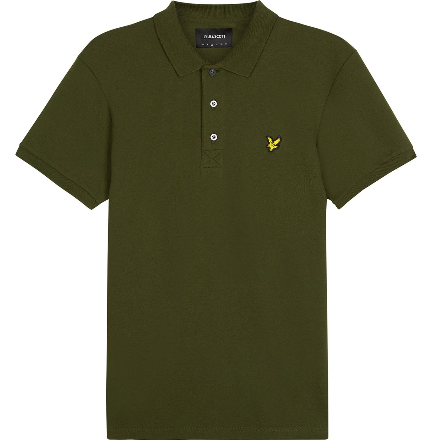 SP919V Slim Stretch Polo Shirt Woodland Green