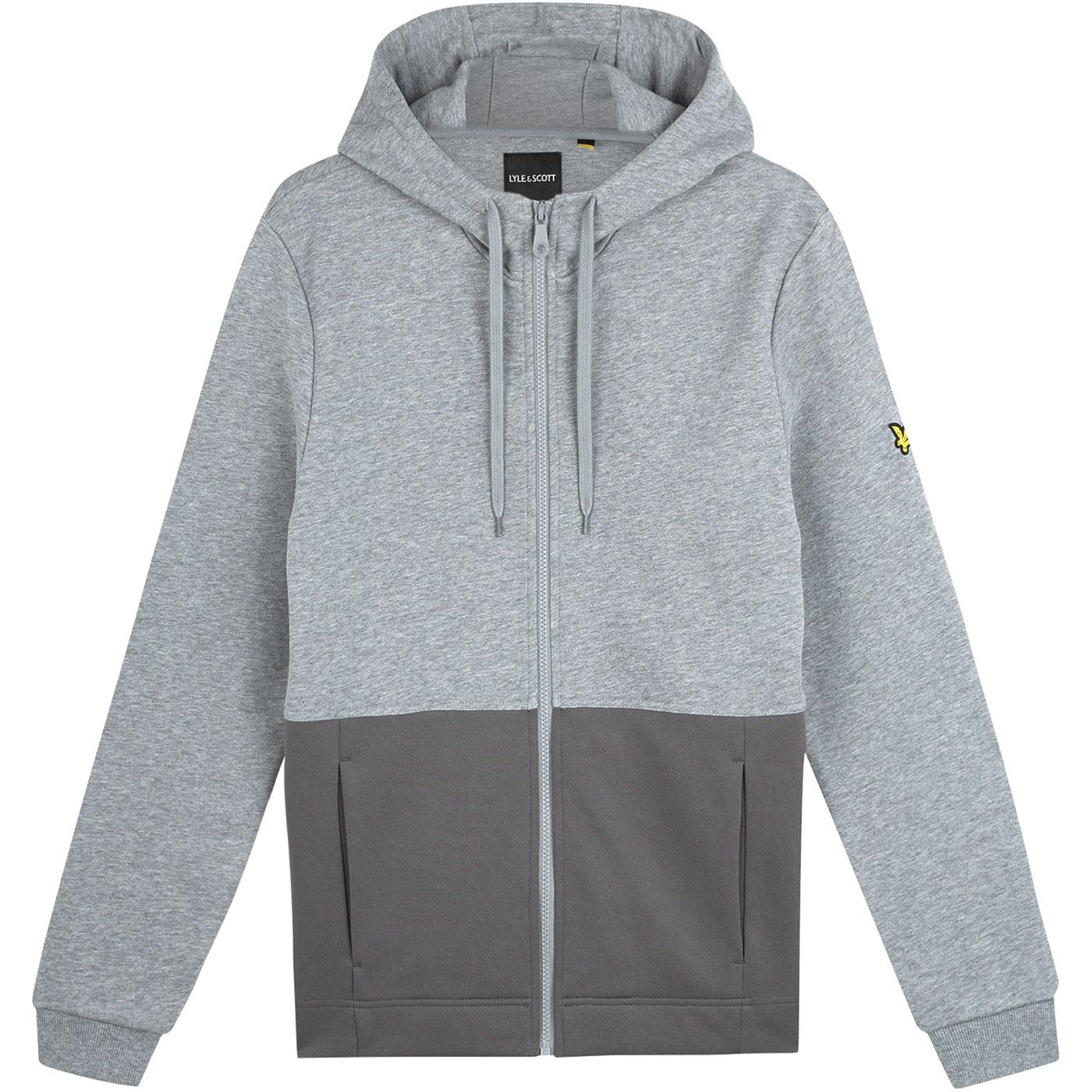 LYLE & SCOTT Casuals Zip Through Hooded Top (MGM)