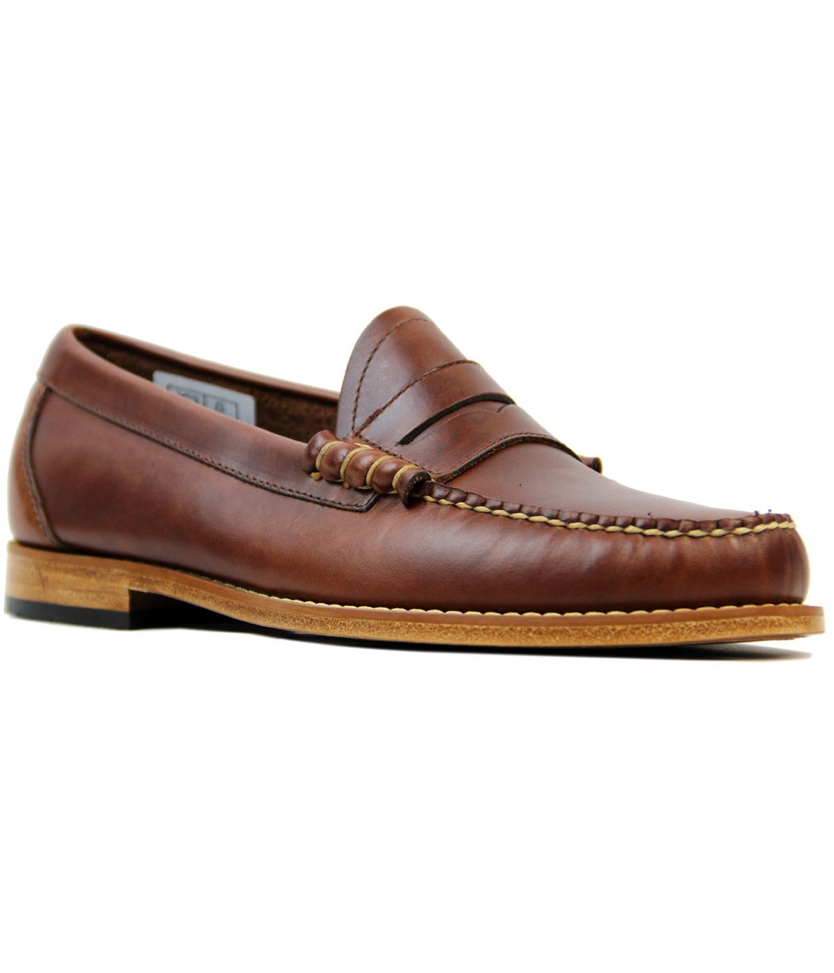 Larson BASS WEEJUNS Mod Pull Up Penny Loafers