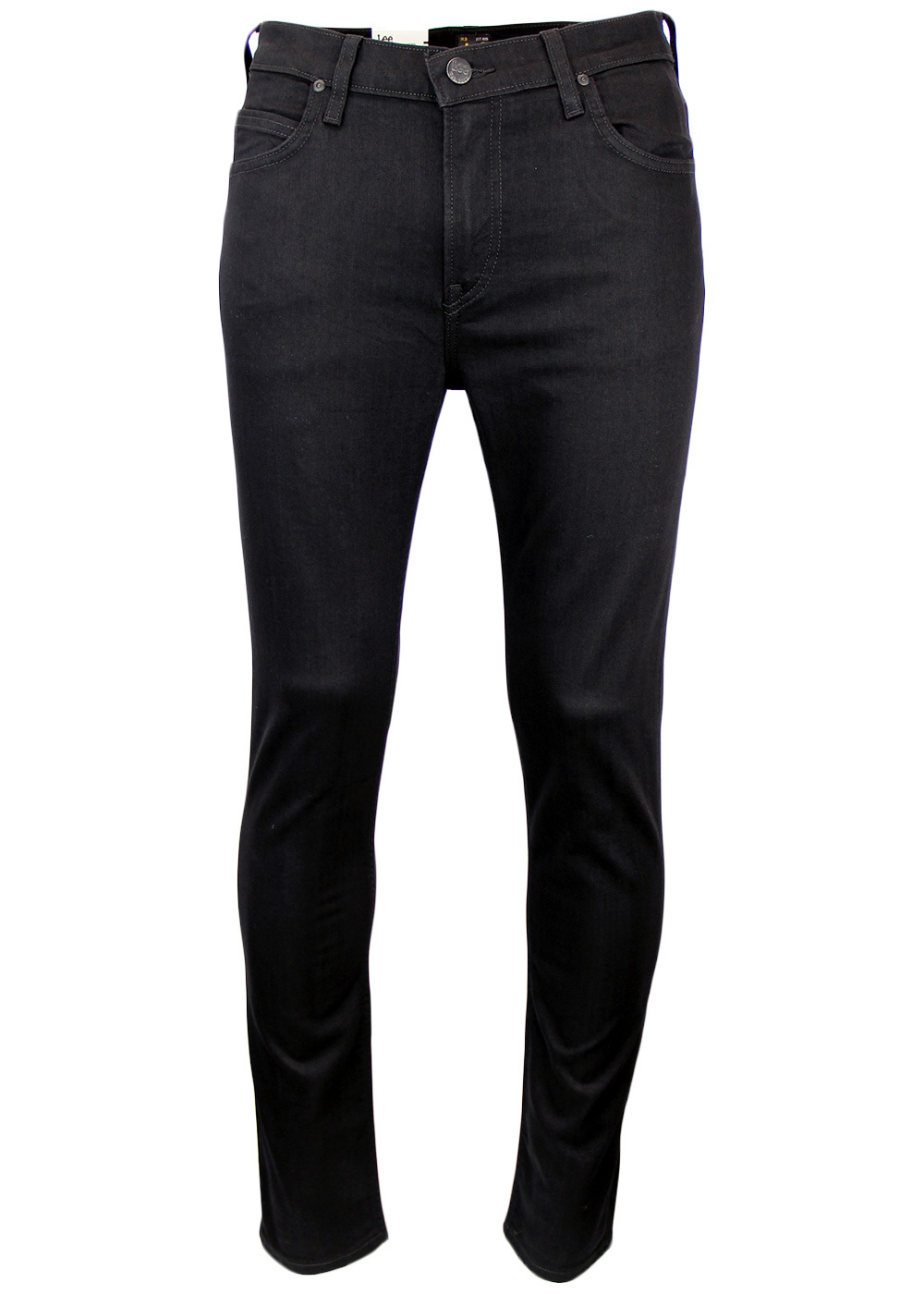 Rider LEE Retro Indie Slim Leg Denim Black Jeans