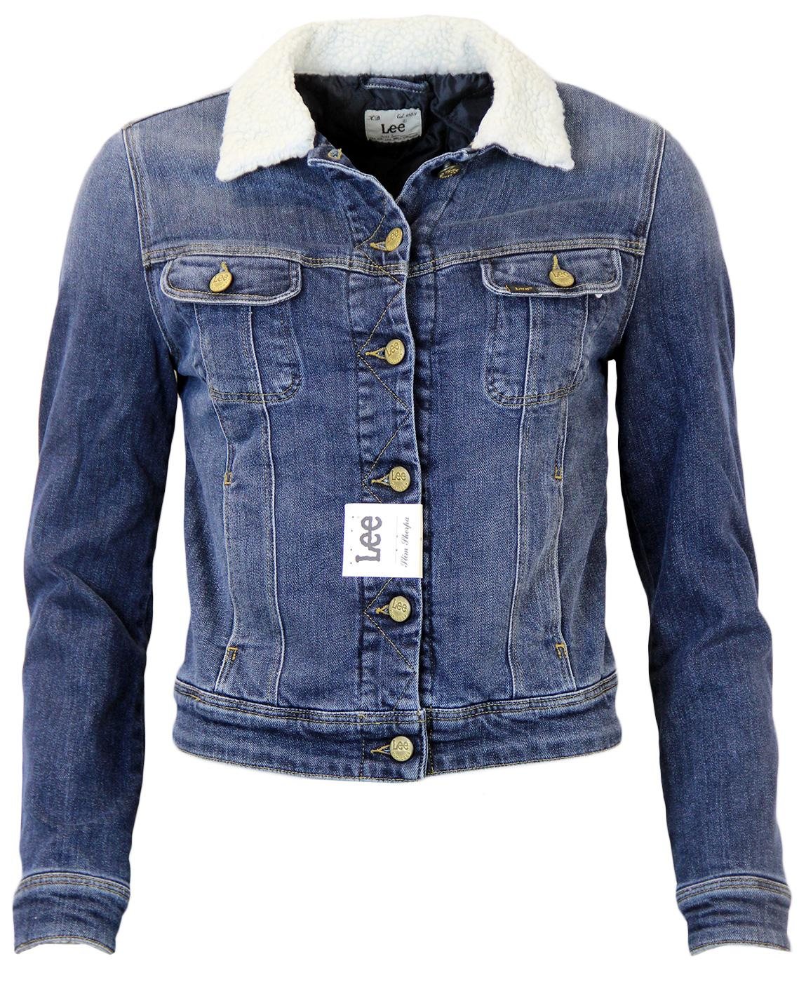 LEE Retro 1960s Slim Sherpa Denim Jacket